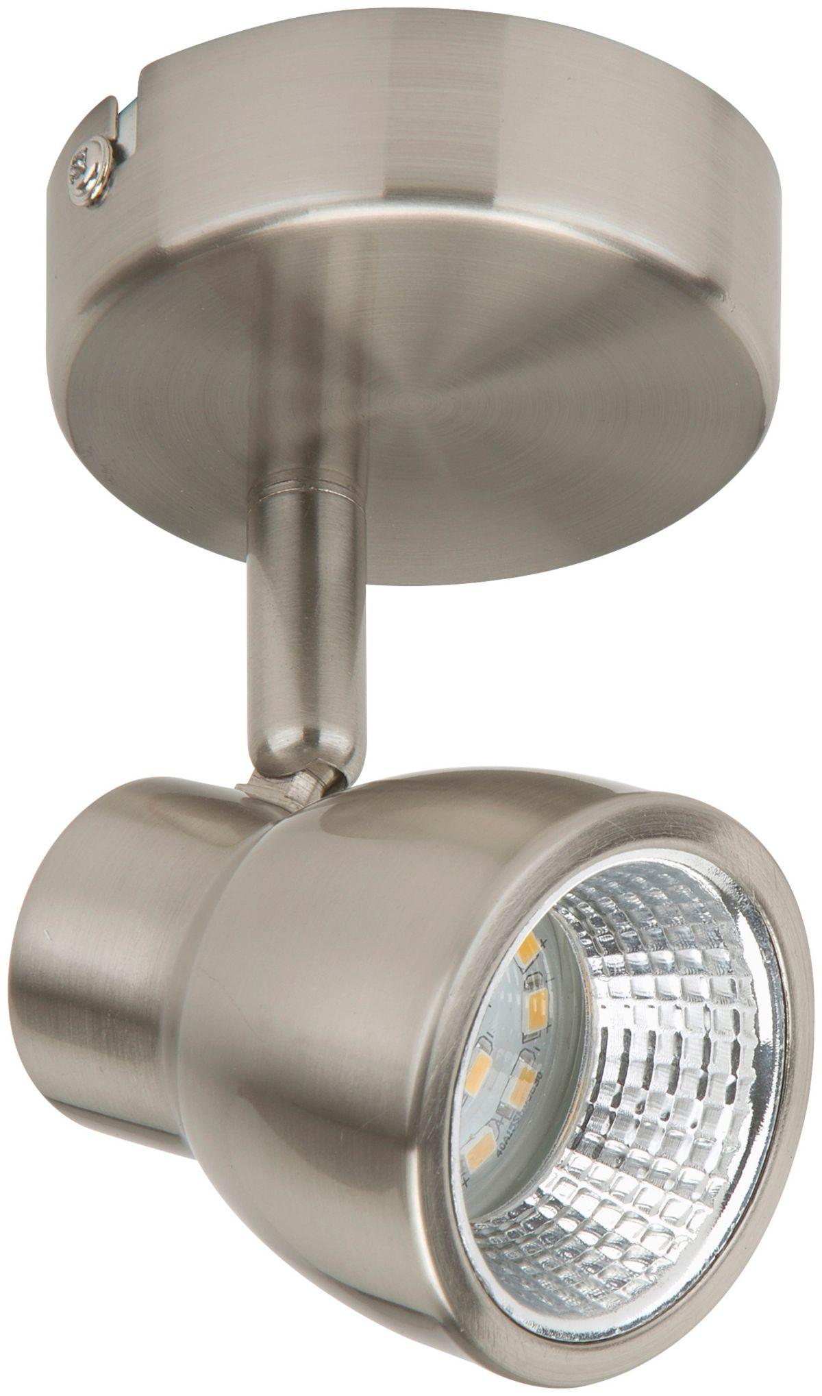 BRILONER LED-Spotleuchte »Baffle«, 1-flammig, matt-nickel, 5W