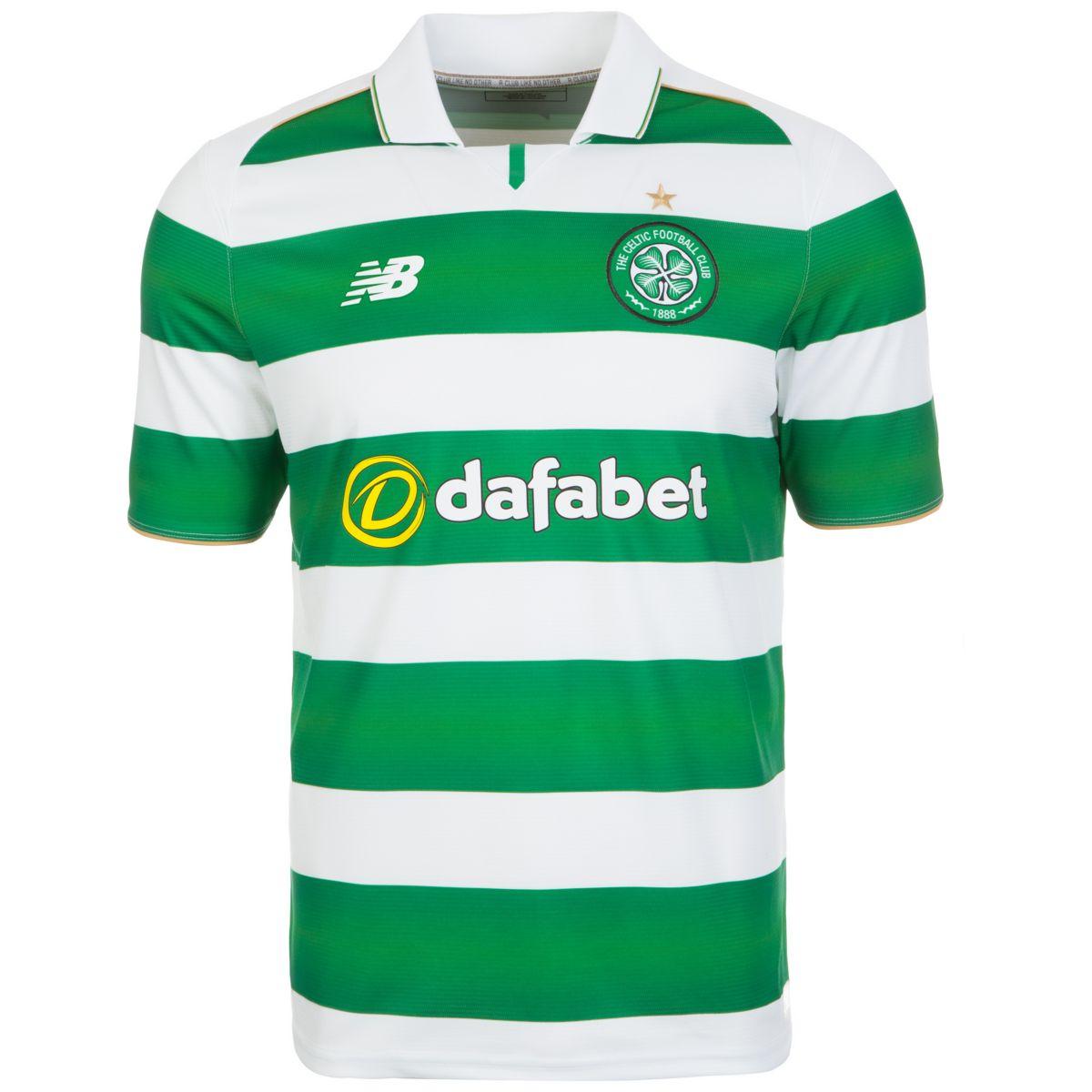NEW BALANCE Celtic Glasgow Trikot Home 2016/201...
