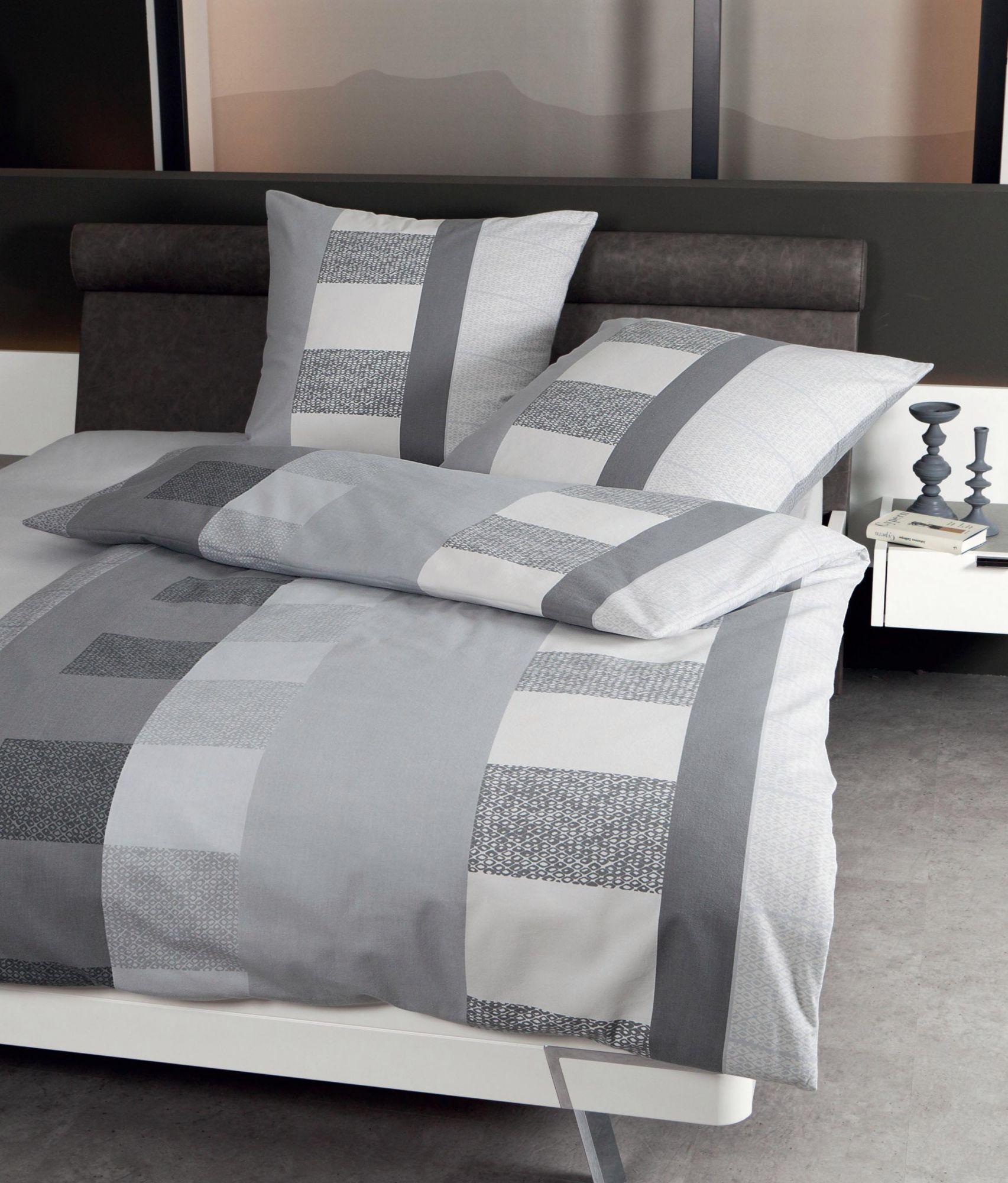 bettw sche janine flie mit mustern streifen schwab versand bettw sche 200x200 cm. Black Bedroom Furniture Sets. Home Design Ideas