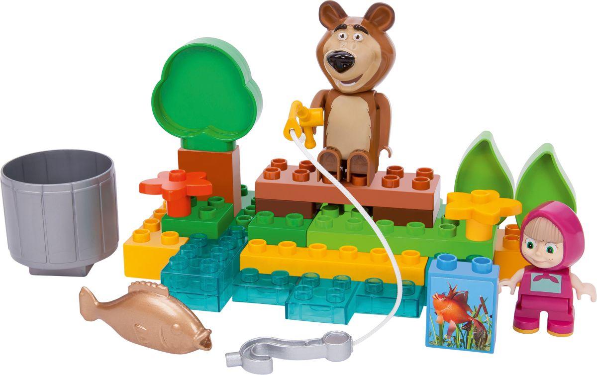 BIG Bausteinespielset,  PlayBIG Bloxx Masha an the Bear, Go Fishing  Preisvergleich