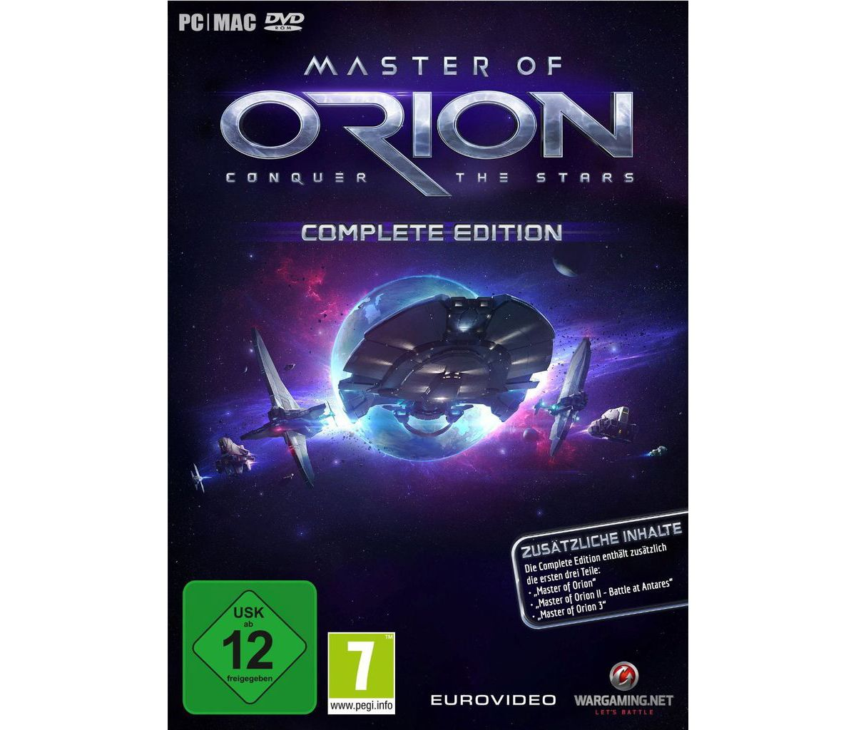 Nordic Games PC - Spiel »Master of Orion - Comp...