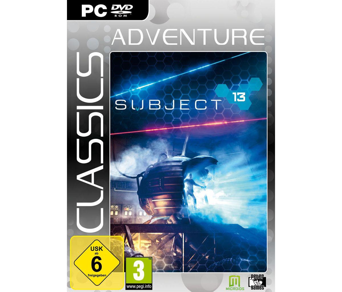 Morphicon PC - Spiel »Subject 13 (Adventure Cla...