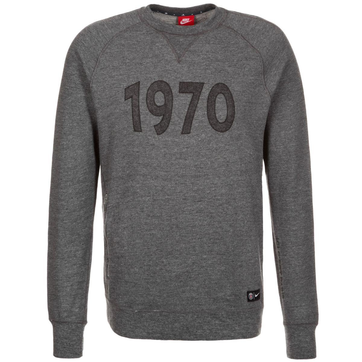 NIKE Paris St.-Germain Crew Authentic Sweatshir...