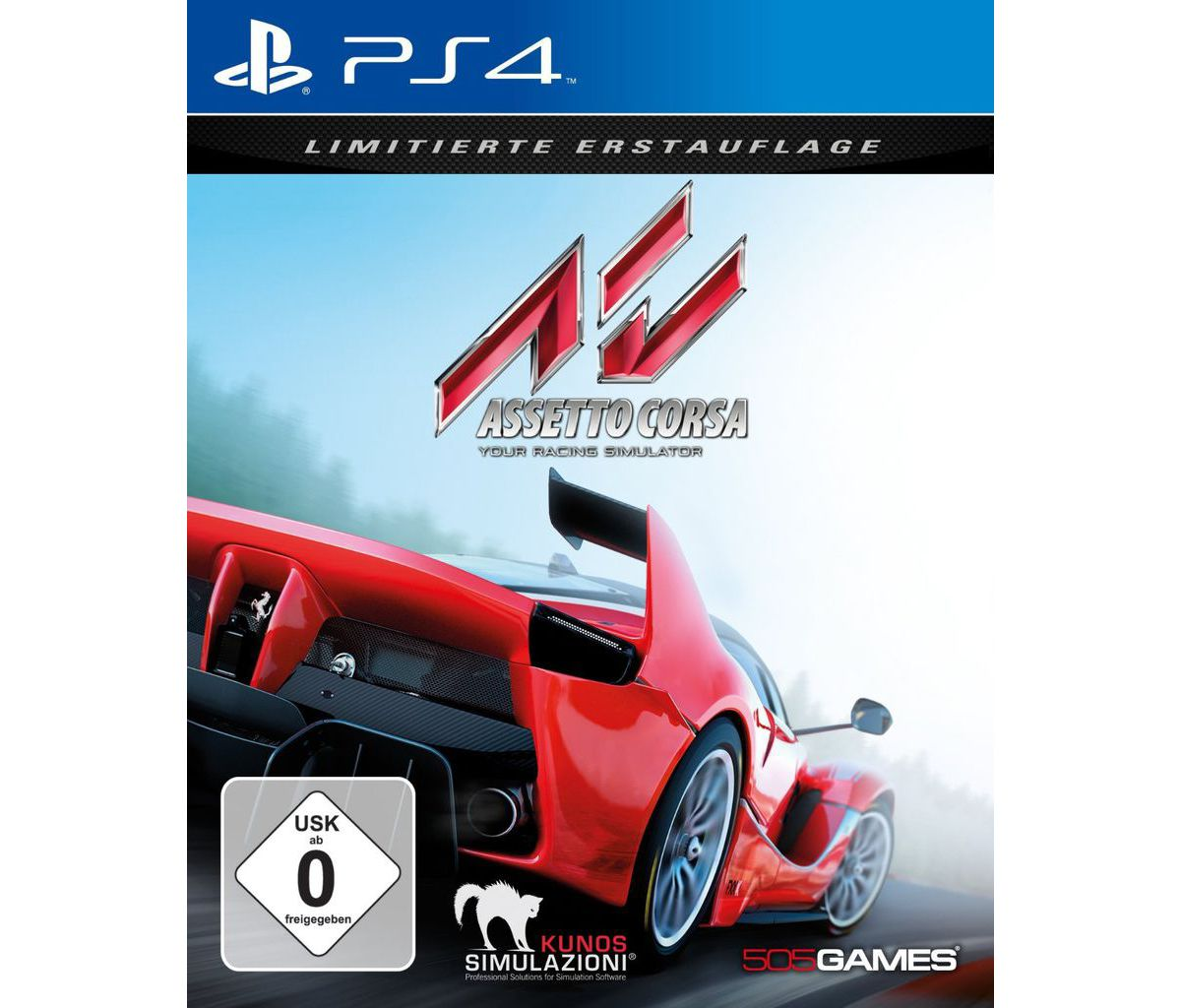 505 Games Playstation 4 - Spiel »Assetto Corsa«