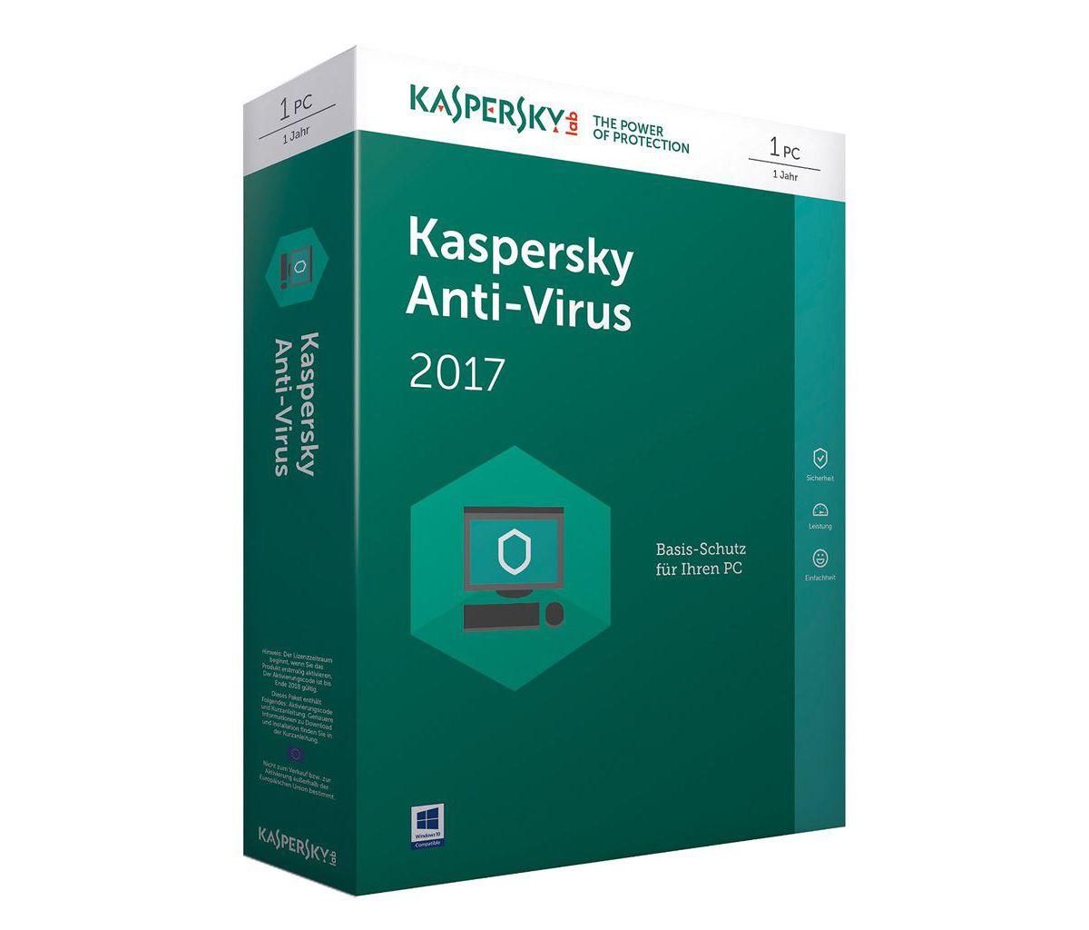 Kaspersky Software »Kaspersky Anti-Virus 2017 Upgrade«