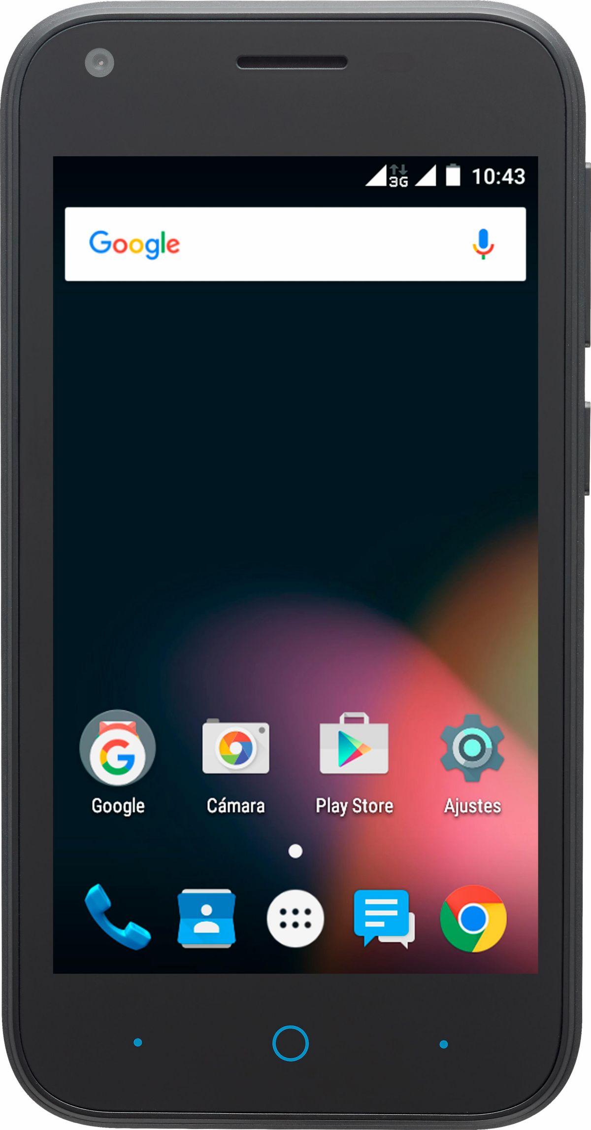 ZTE Blade L110 Smartphone, 10,16 cm (4 Zoll) Di...