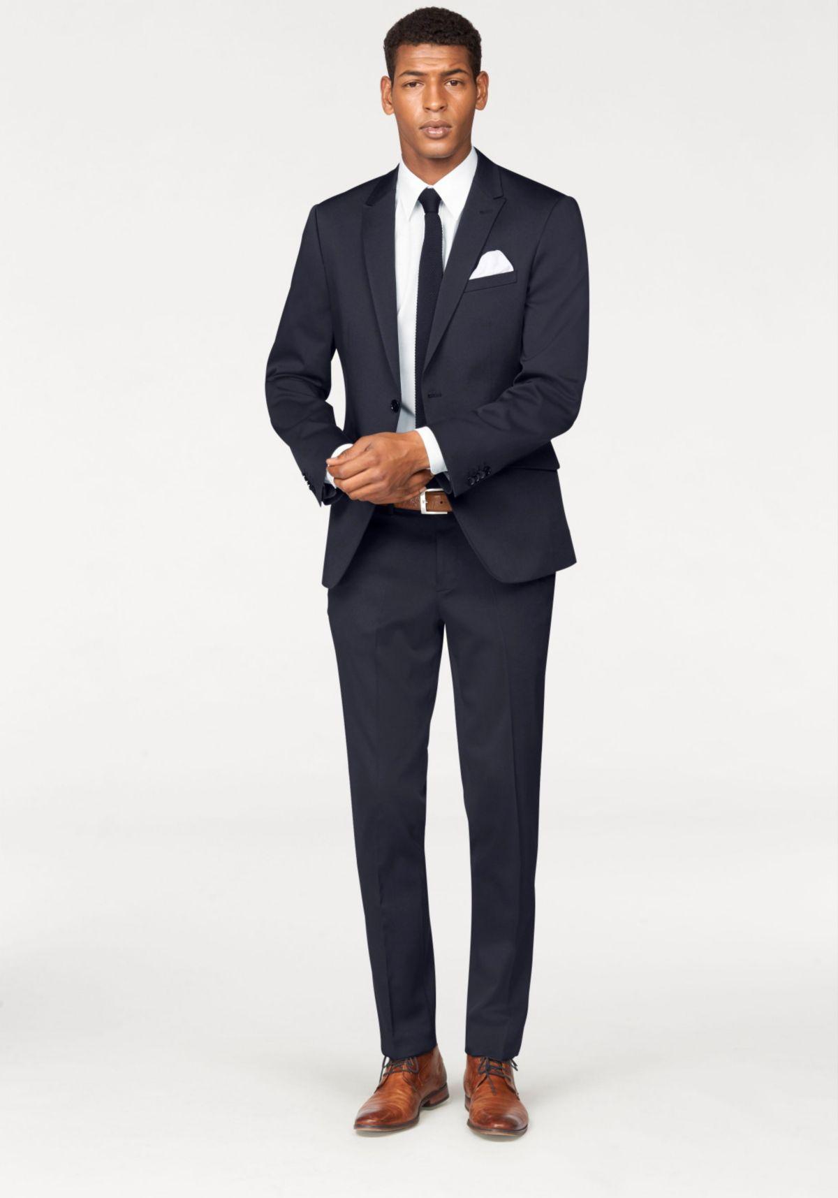 Bruno Banani Anzug 4-teilig (Set, 4 tlg., mit Krawatte und Einstecktuch) Preisvergleich
