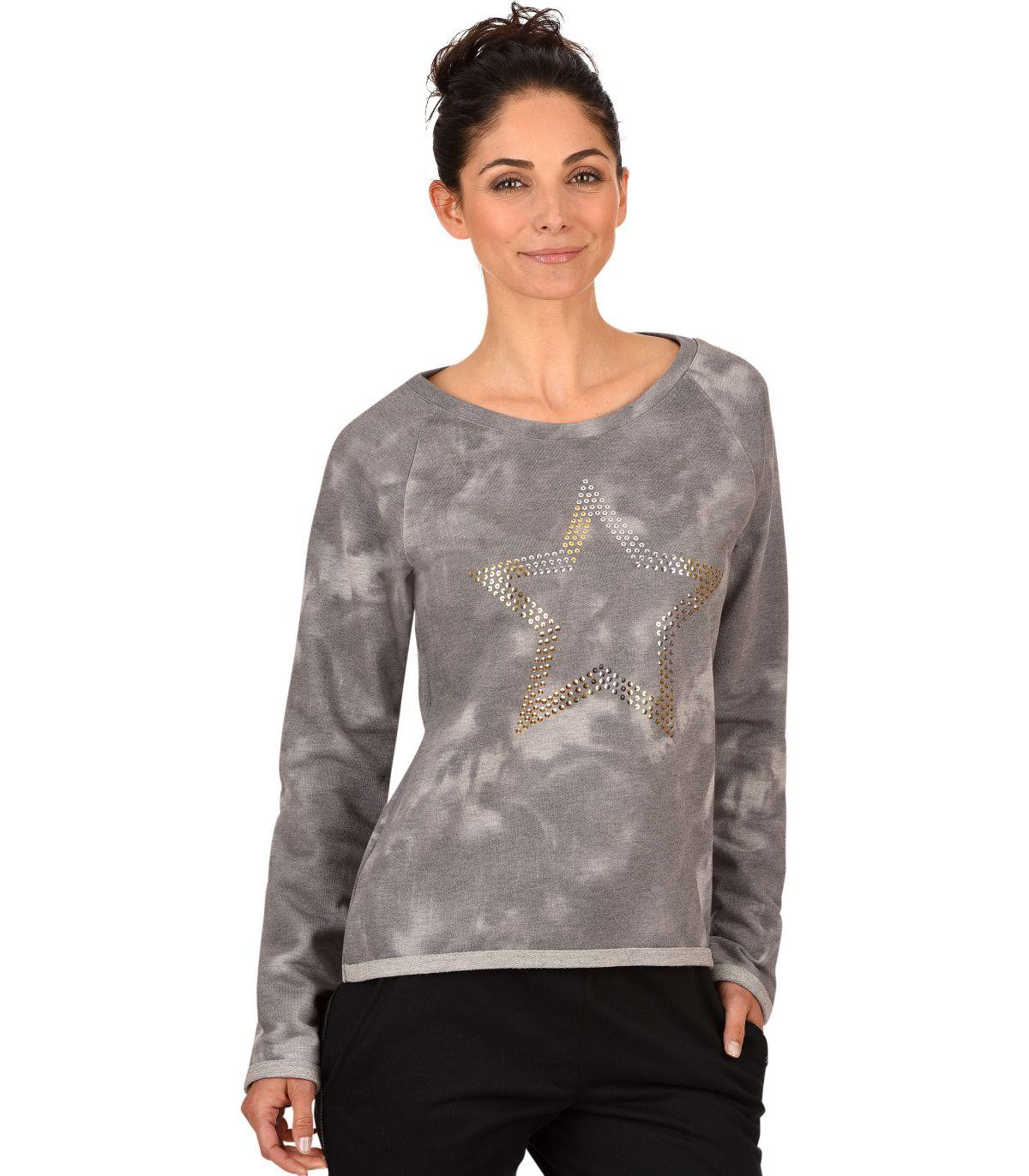 TRIGEMA Sweater mit Stern