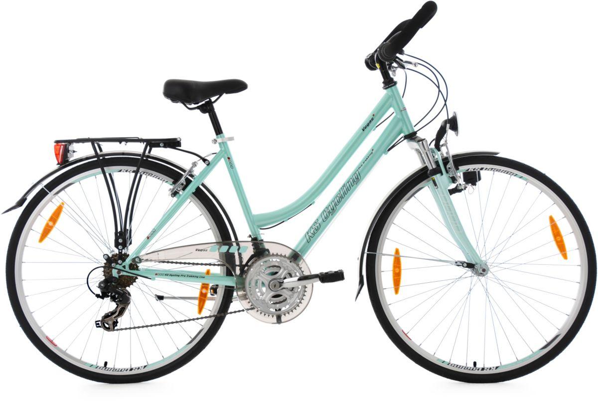 KS Cycling Damen-Trekkingrad, Gang Shimano Tour...