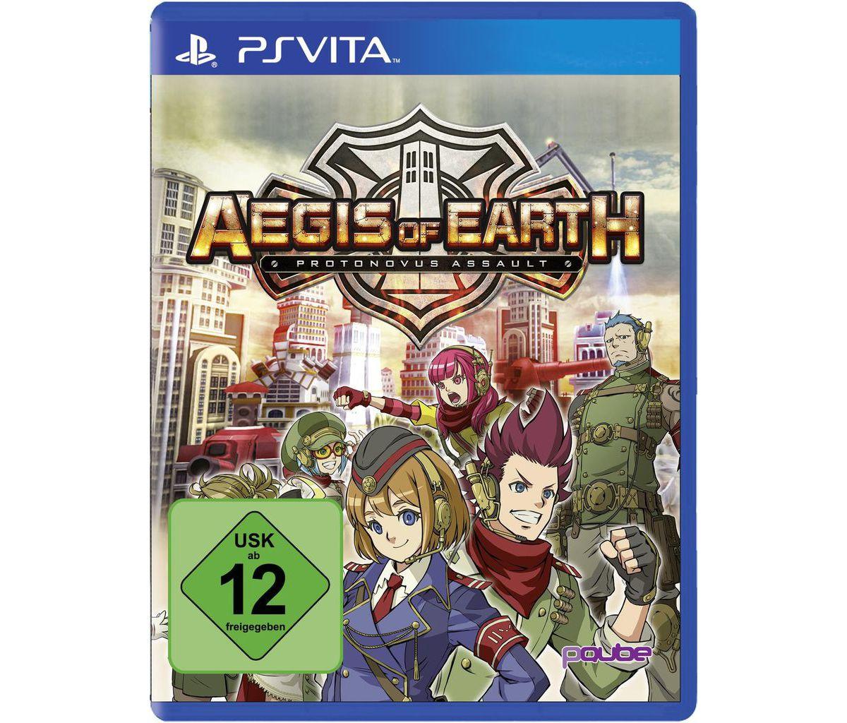 PQube Playstation Vita - Spiel »Aegis of Earth:...