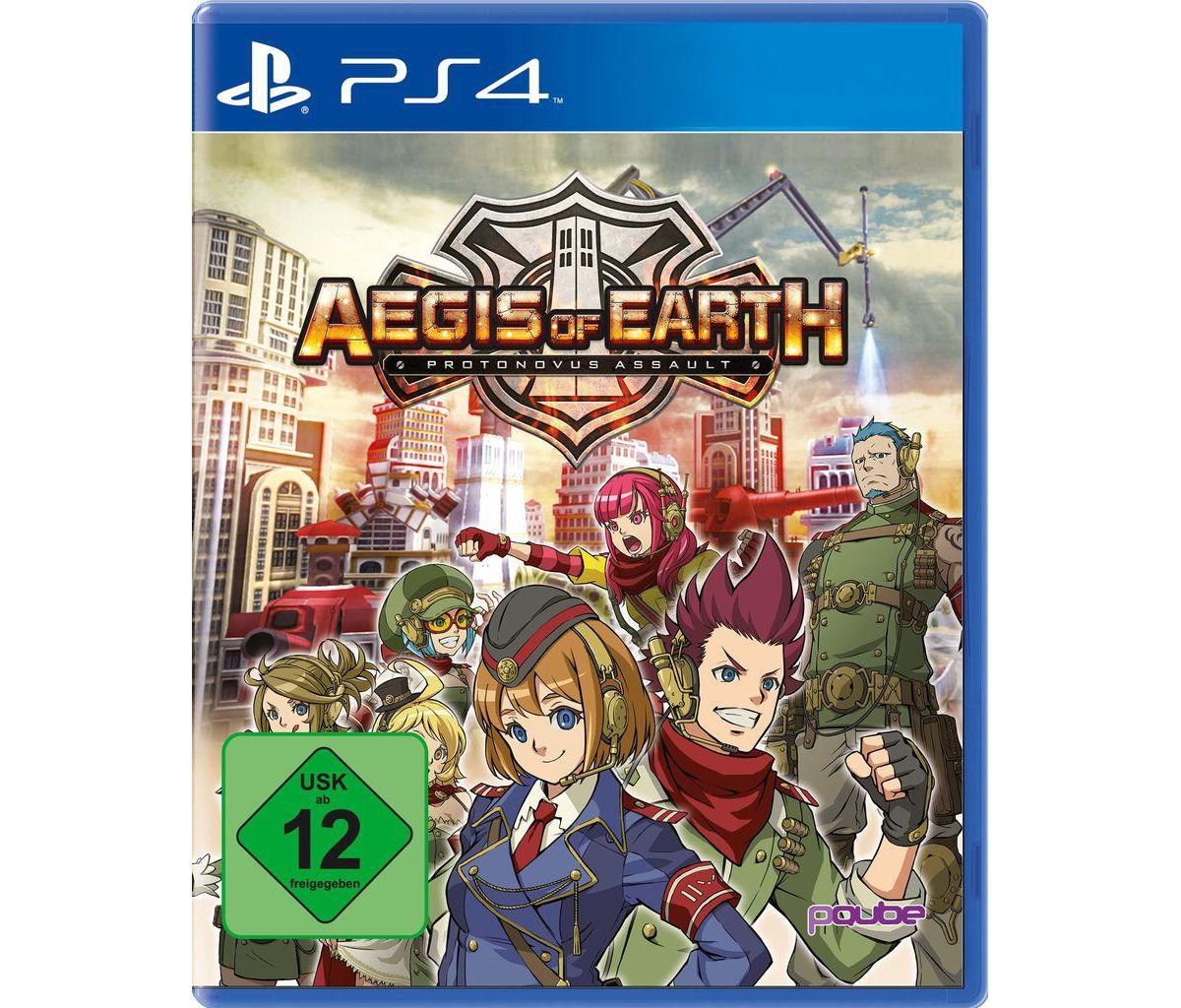 PQube Playstation 4 - Spiel »Aegis of Earth: Pr...