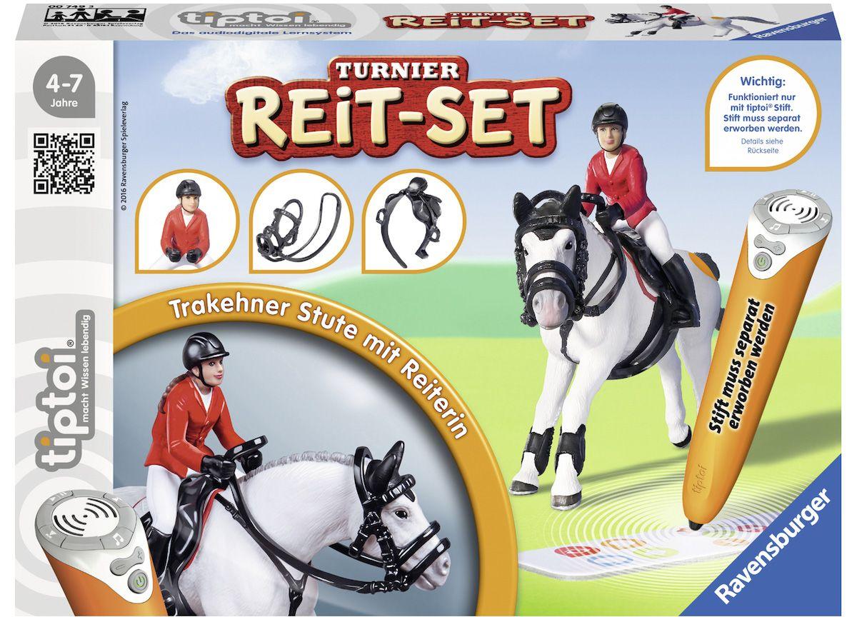Ravensburger Set bestehend aus: Pferd, Reiterin...