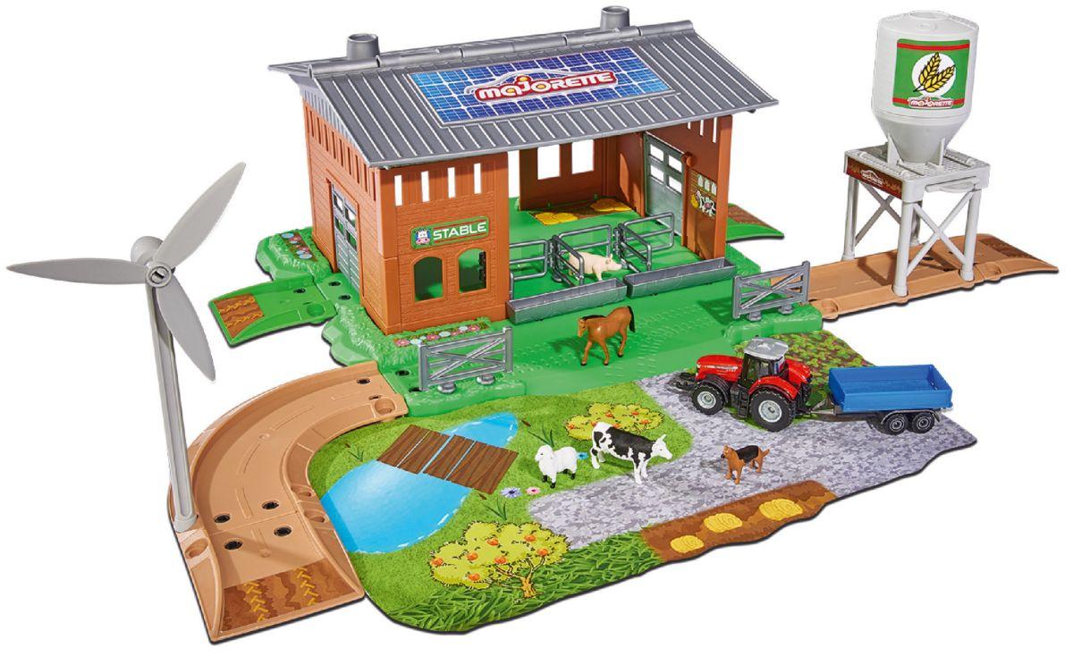 Majorette Spielzeug Bauernhof, »Creatix Stable ...
