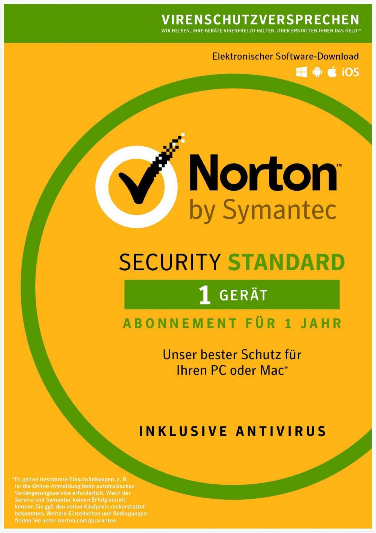 Norton Security Standard 3.0 »1 Benutzer, 1 Gerät«