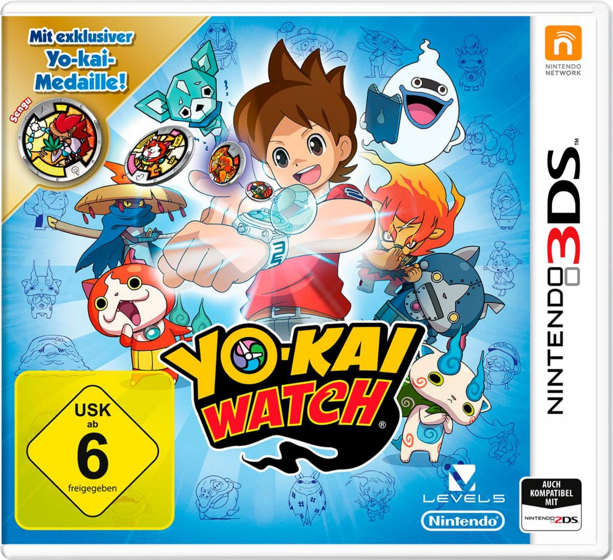 super popular e30a6 0270b Yo-Kai Watch Special Edition inklusive Medaille 3DS