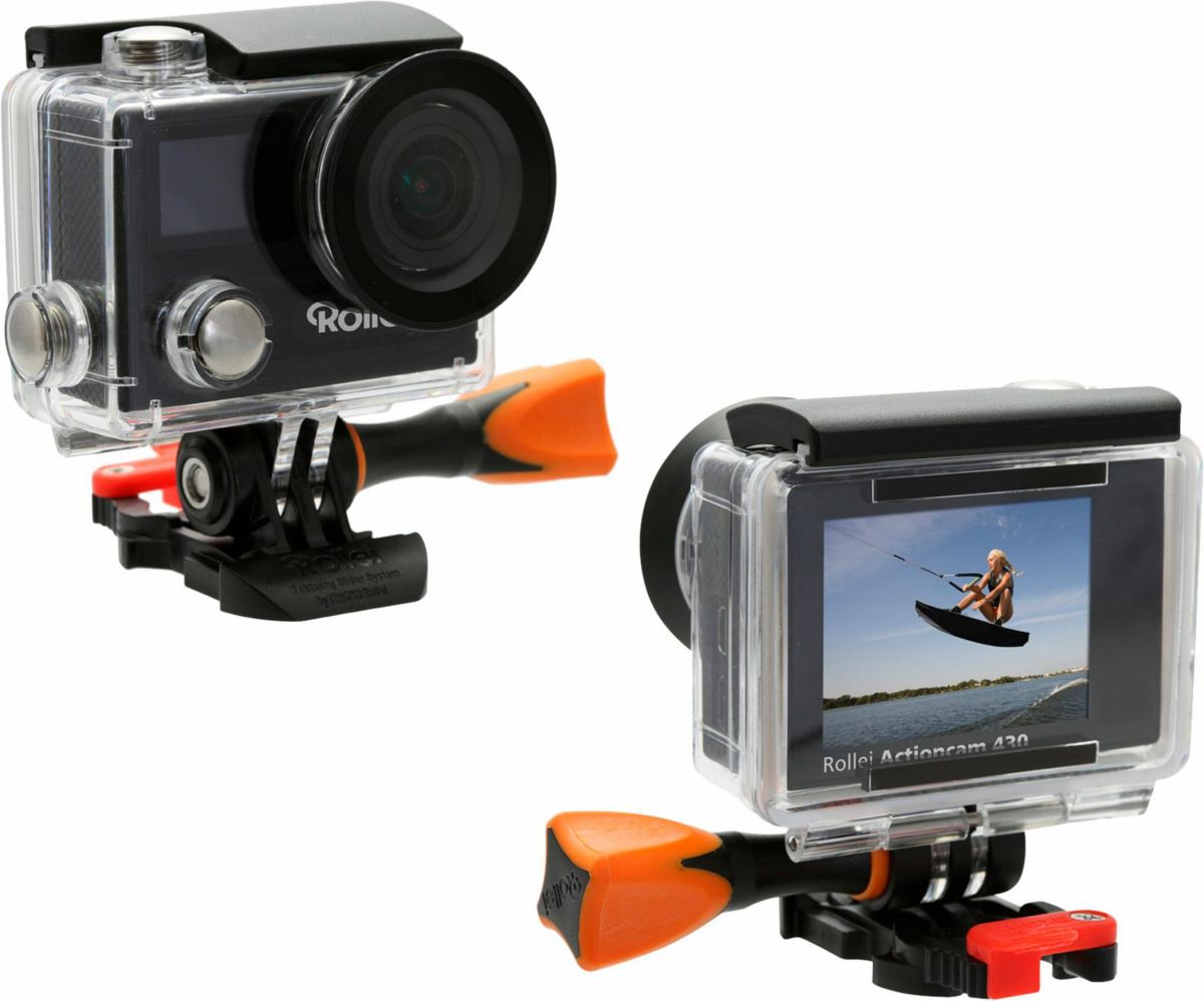 Rollei Actioncam 430 4K (Ultra-HD) Actioncam, WLAN