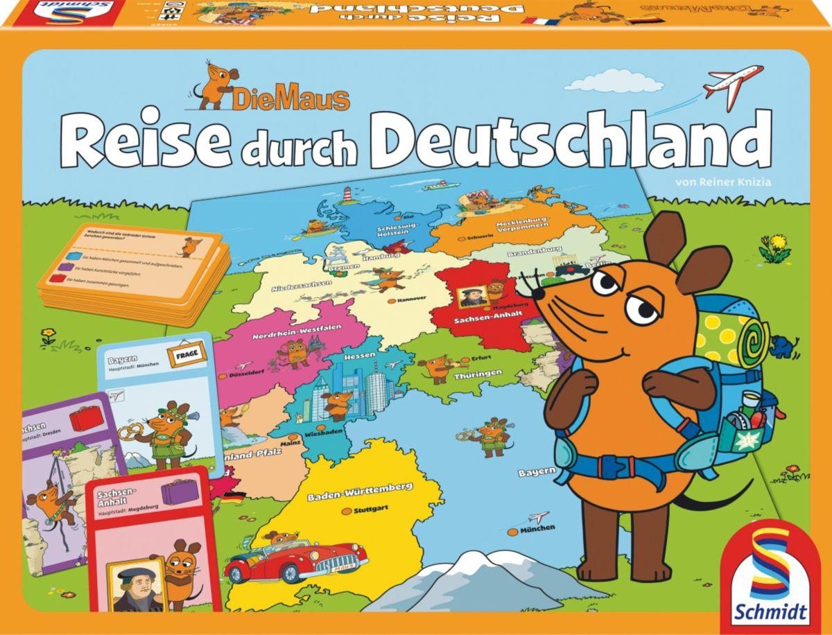 Schmidt Spiele Quizspiel , »Die Maus, Reise dur...