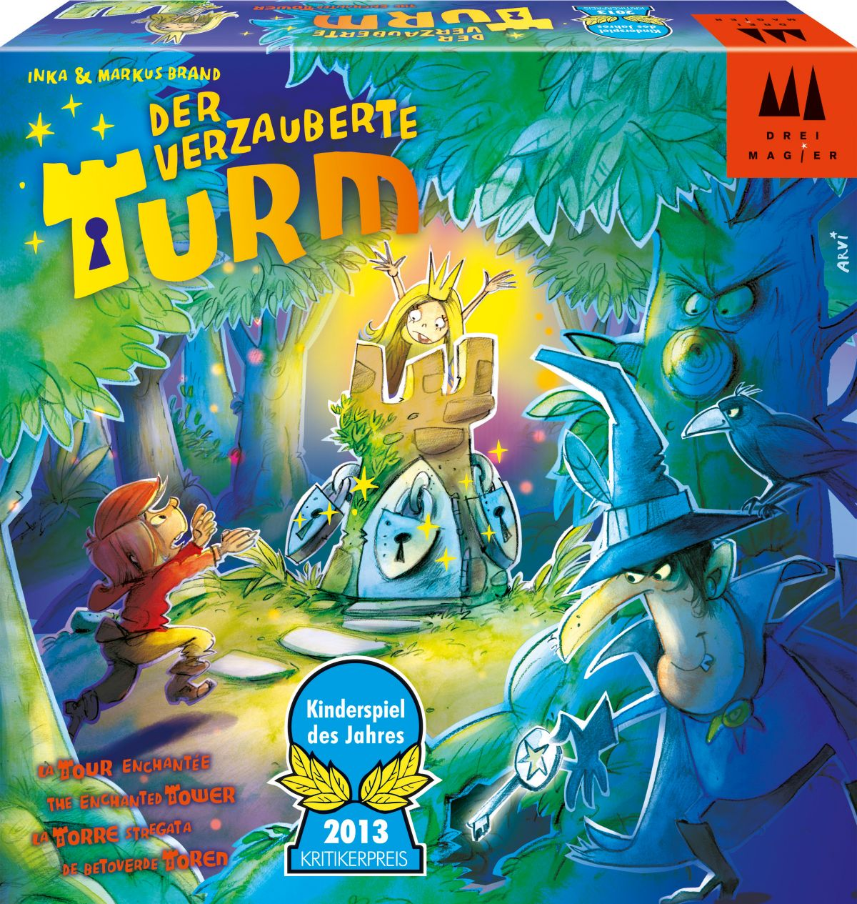 Drei Magier Spiele Brettspiel, »Der verzauberte...