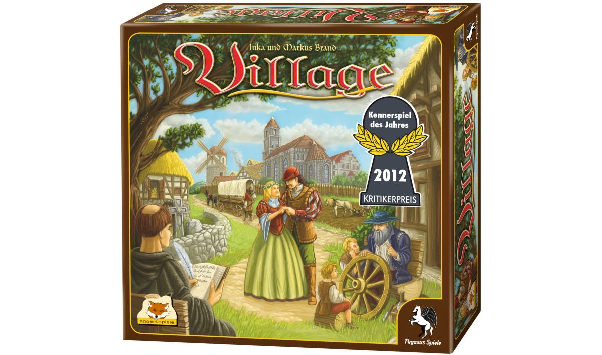 Pegasus Spiele Gesellschaftsspiel, »Village«