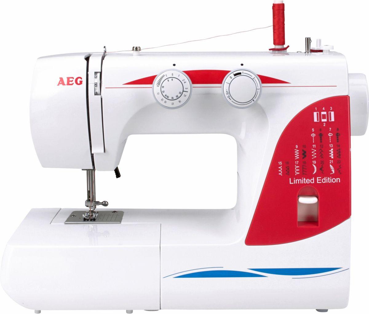 AEG Nähmaschine AEG 124, 26 Programme, mit Zubehör