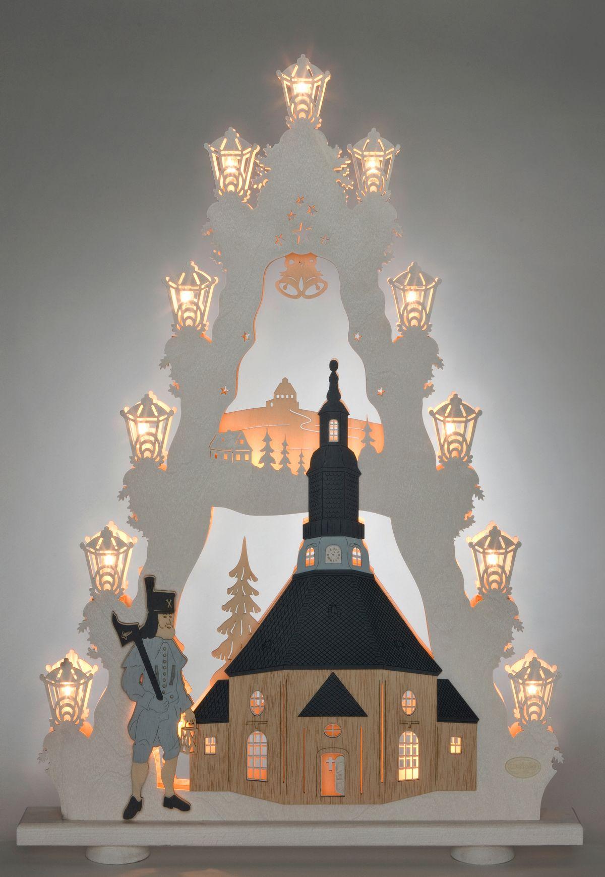 Weigla® Lichterspitze, »Seiffener Kirche«