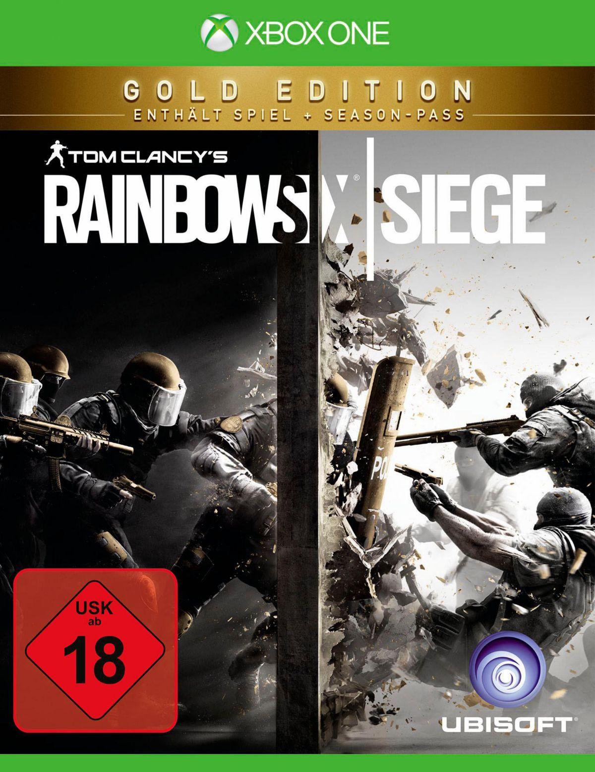 Tom Clancy`s Rainbow Six Siege Gold Edition Xbo...