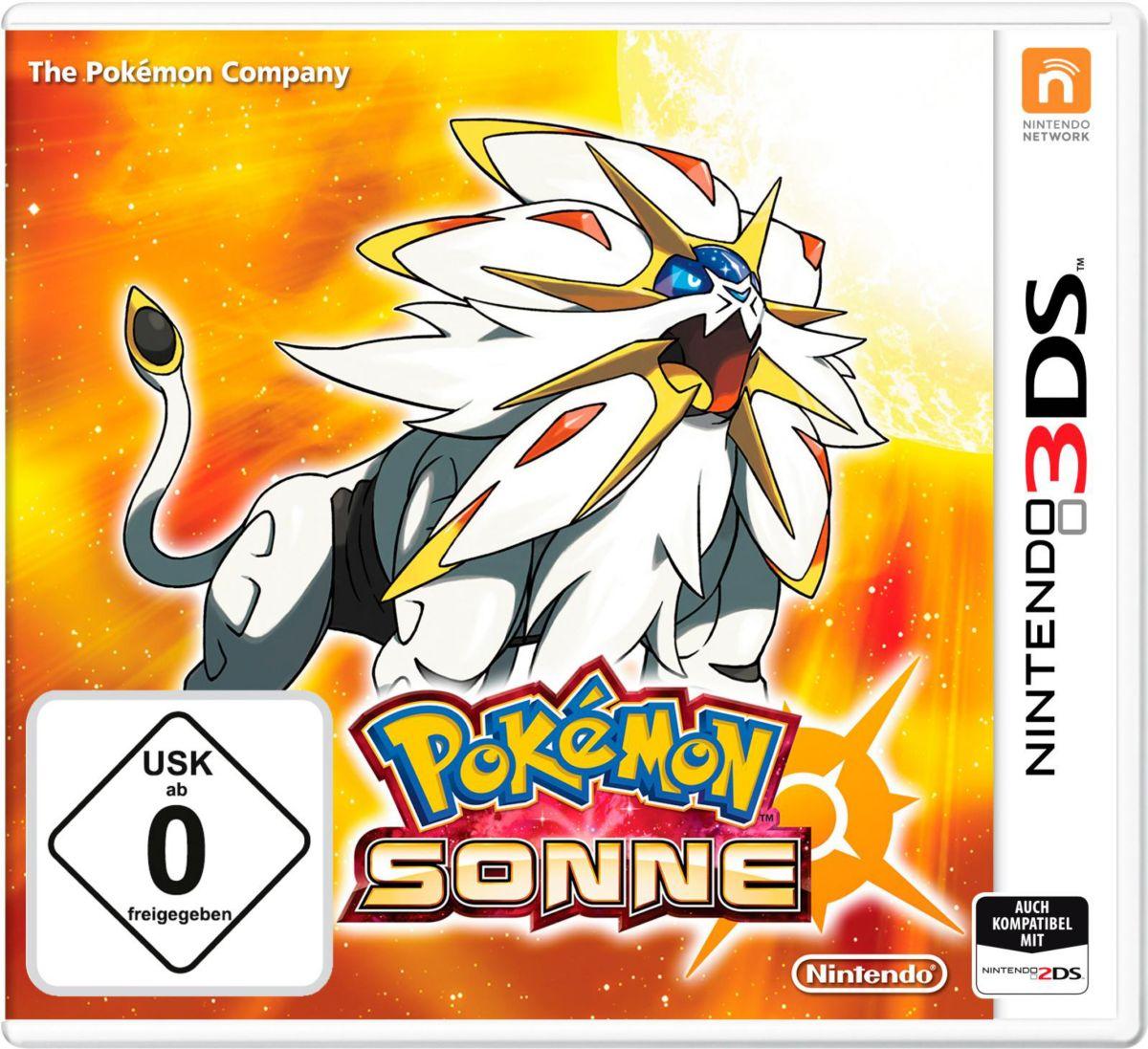 Pokémon Sonne Nintendo 3DS