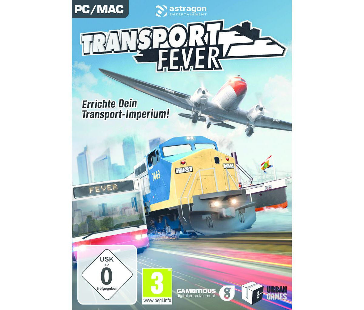 astragon PC - Spiel »Transport Fever«