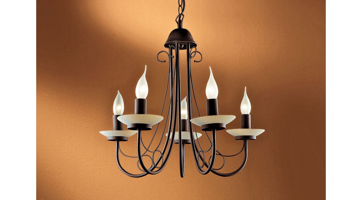 kronleuchter rostfarben. Black Bedroom Furniture Sets. Home Design Ideas