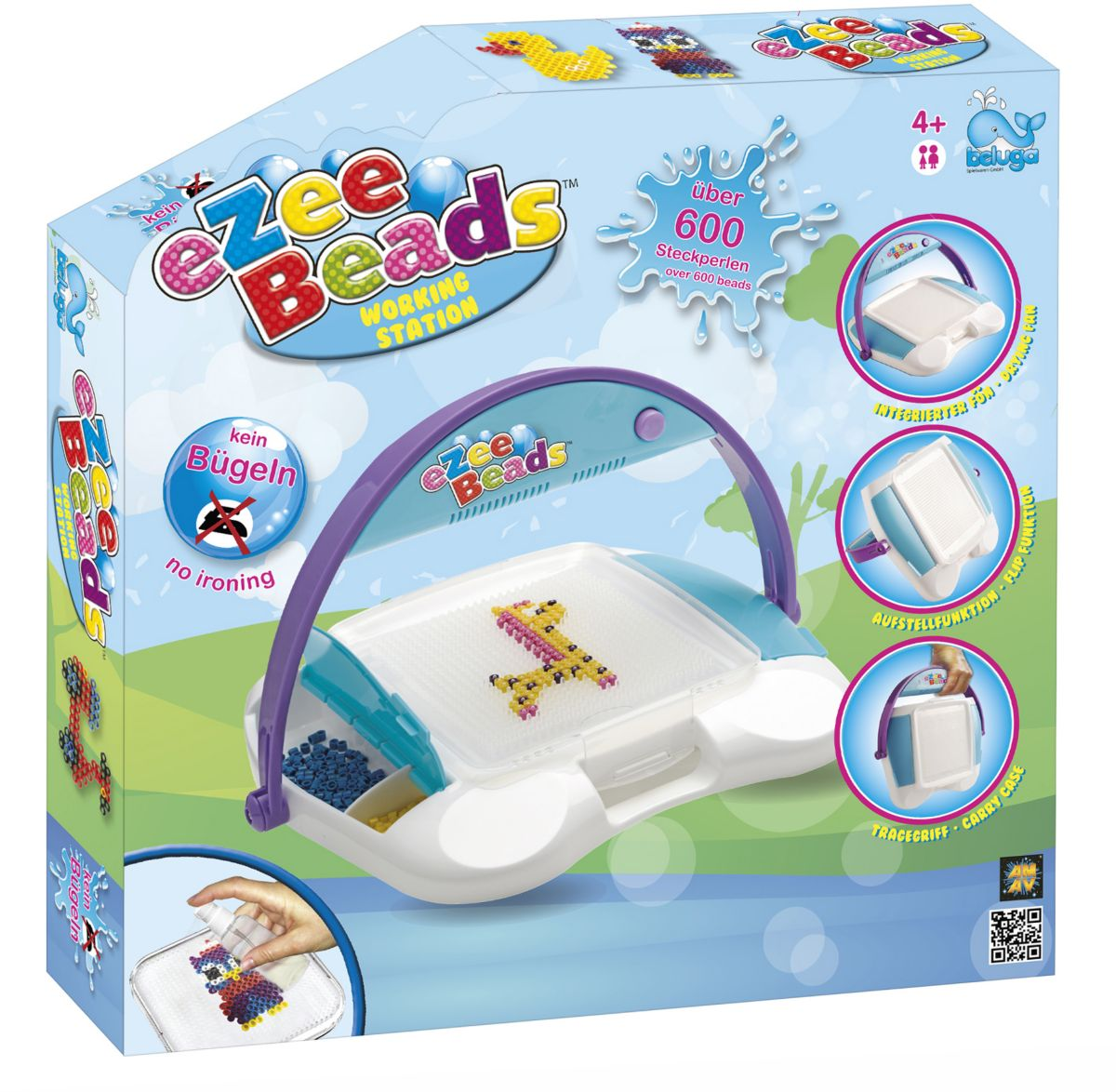 Beluga Kreativ Set, »eZee Beads Working Station«