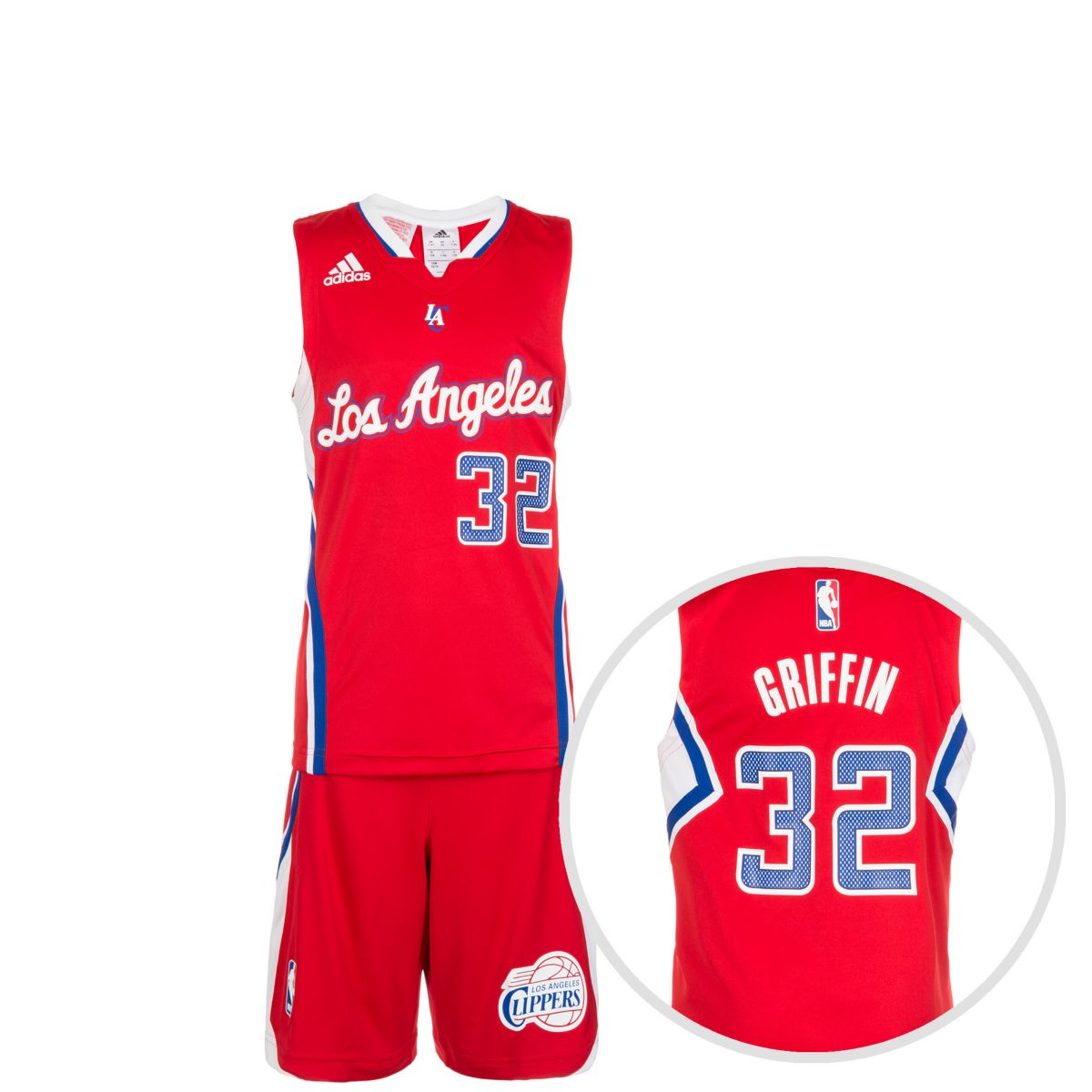 adidas Performance Set: Los Angeles Clippers Minikit Kinder Preisvergleich