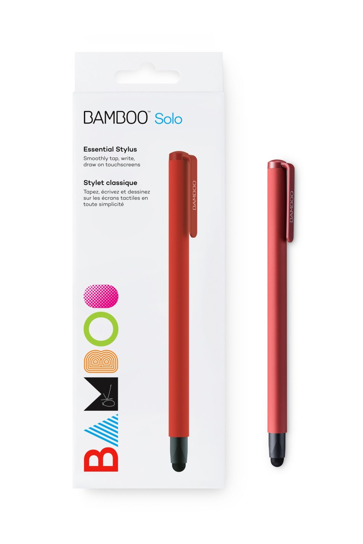 Wacom Eingabestift »BAMBOO STYLUS SOLO4 RED«