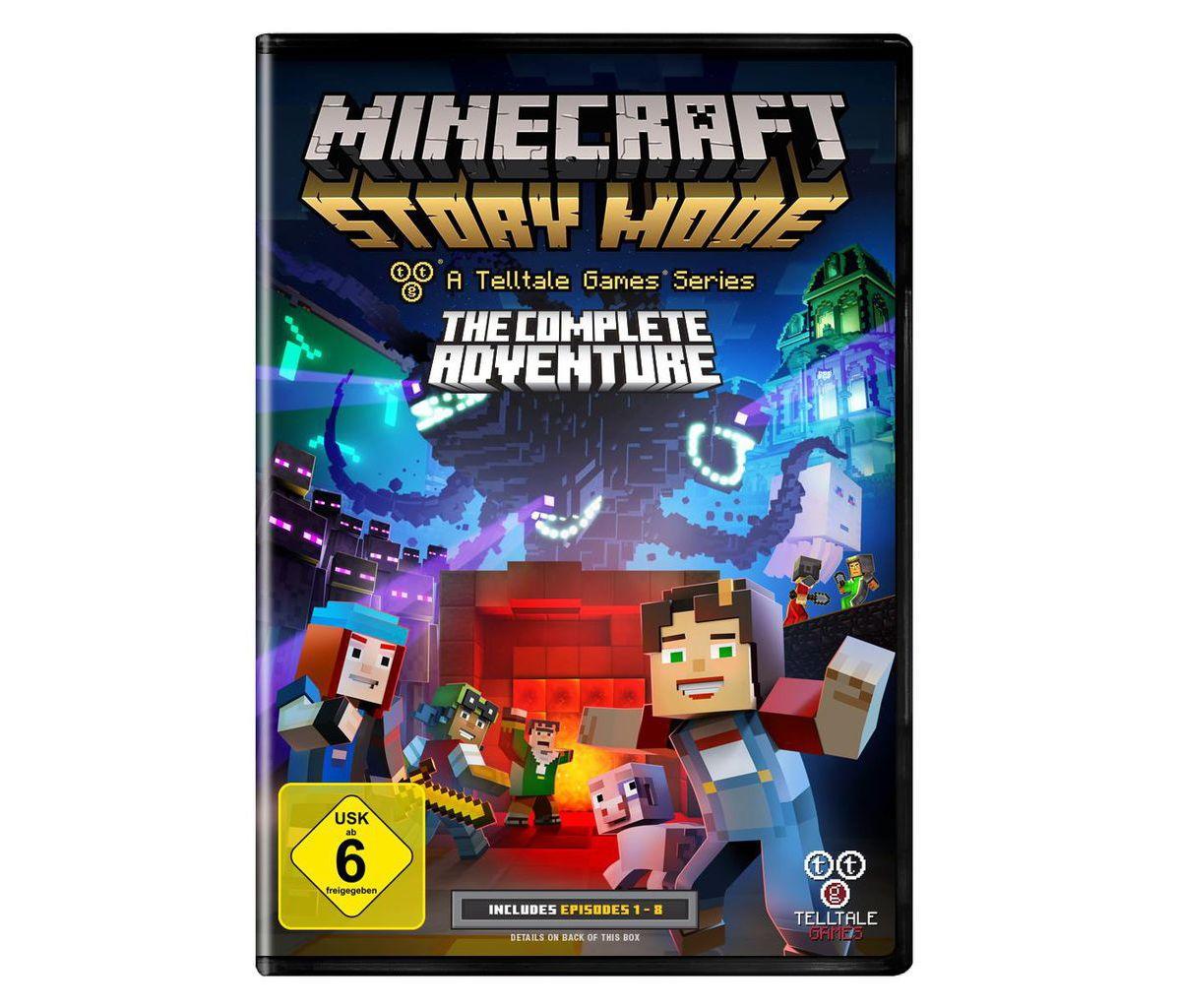 Telltale Games PC - Spiel »Minecraft Story Mode...