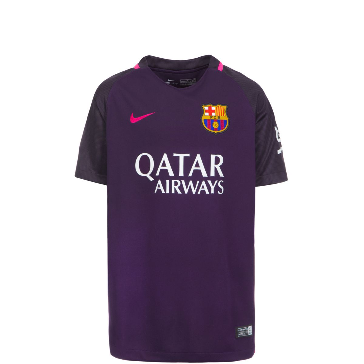NIKE FC Barcelona Trikot Away Stadium 2016/2017...