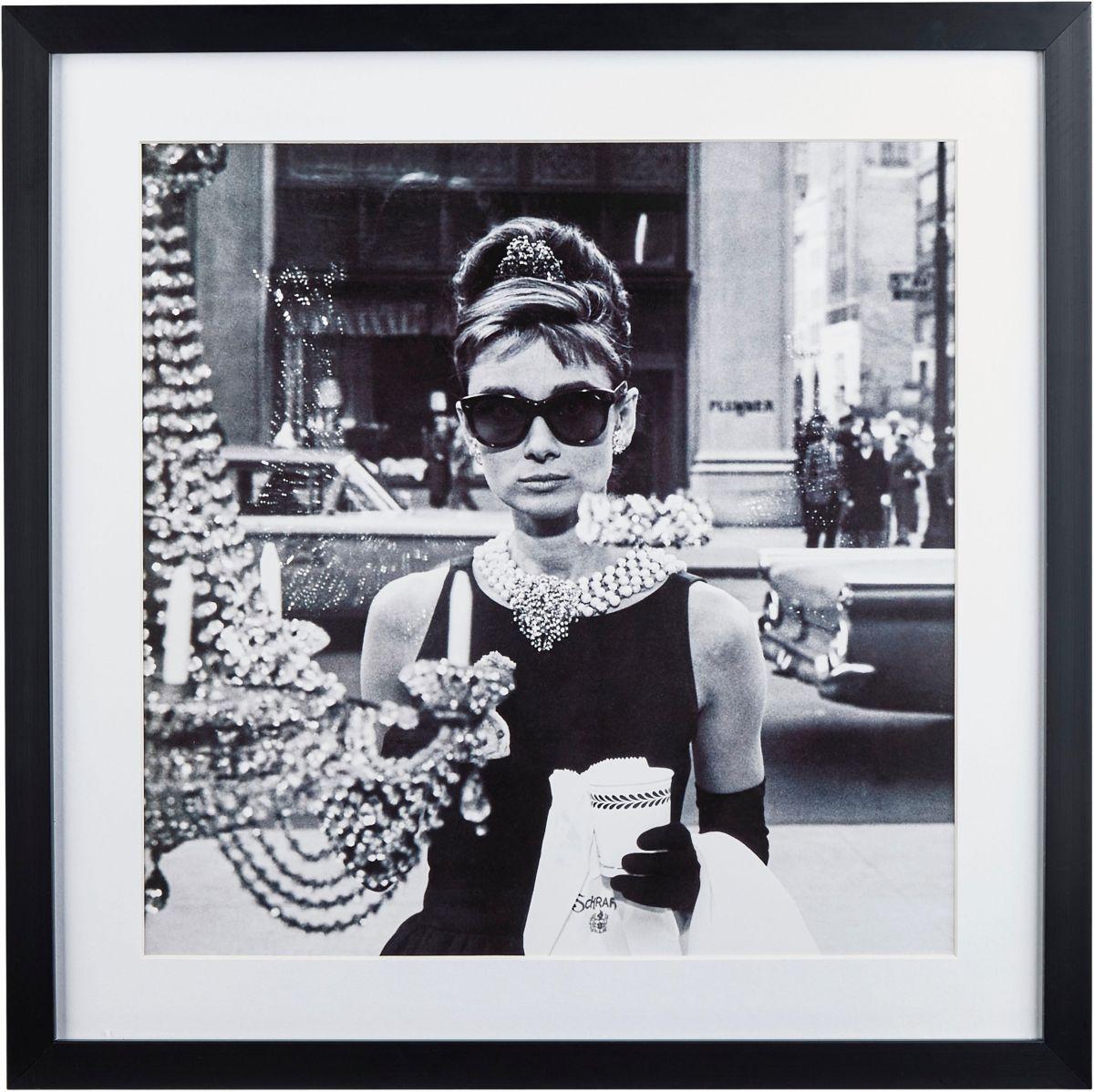 G&C gerahmte Fotografie »Celebrities: Audrey He...