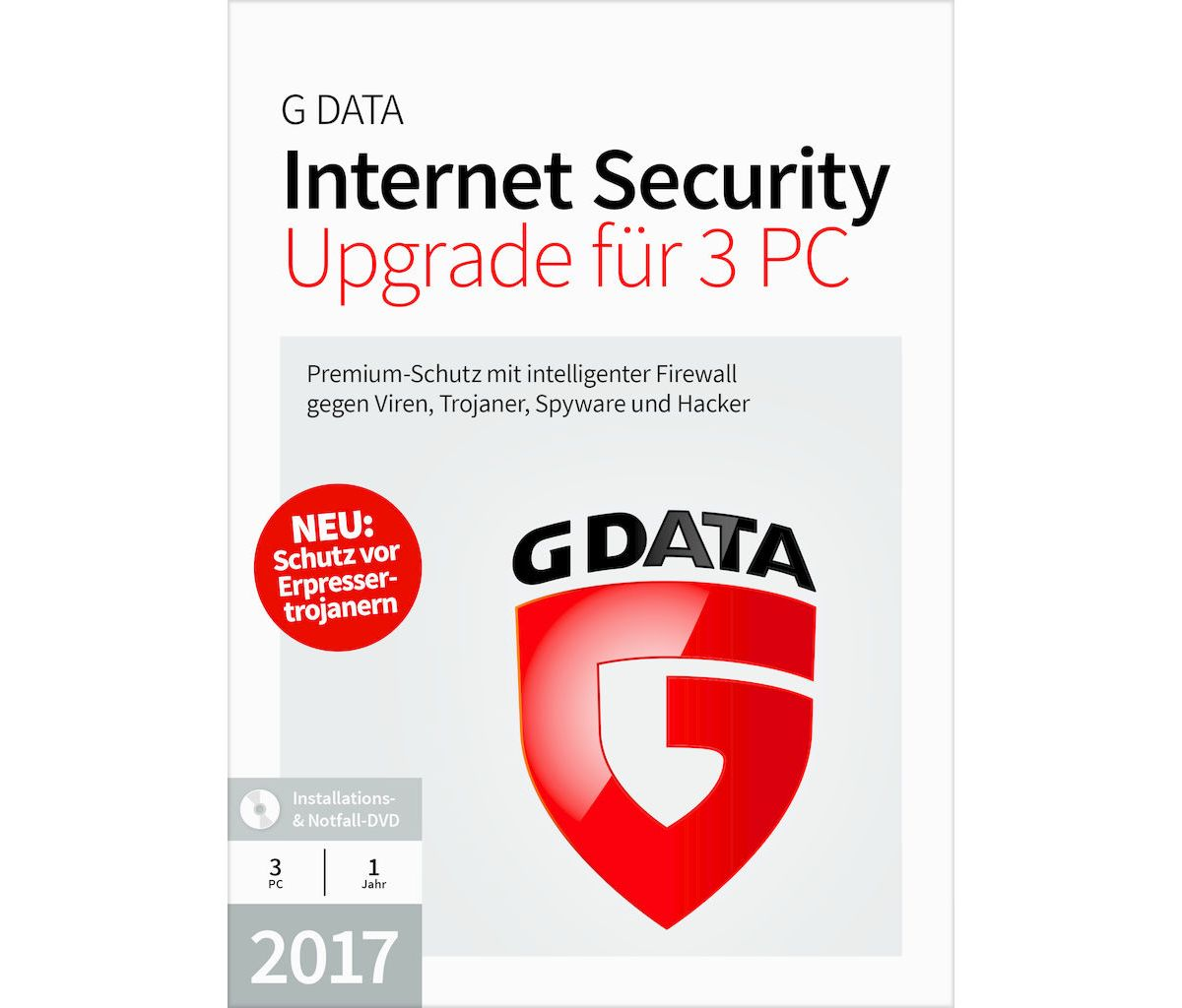 GData Software »GData Internet Security 2017 Up...