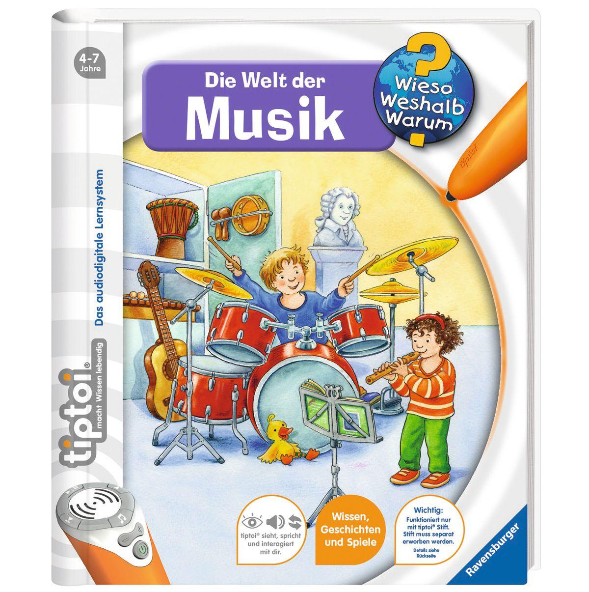Ravensburger Buch, tiptoi®, WWW ? »Welt der Musik«