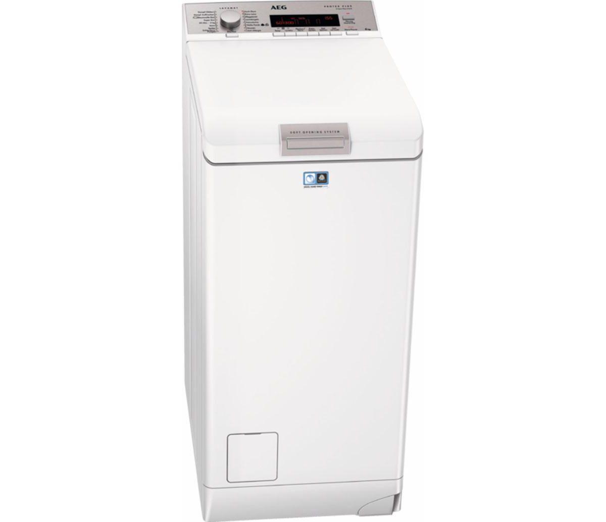 AEG Waschmaschine Toplader LAVAMAT L88565TL, A+...