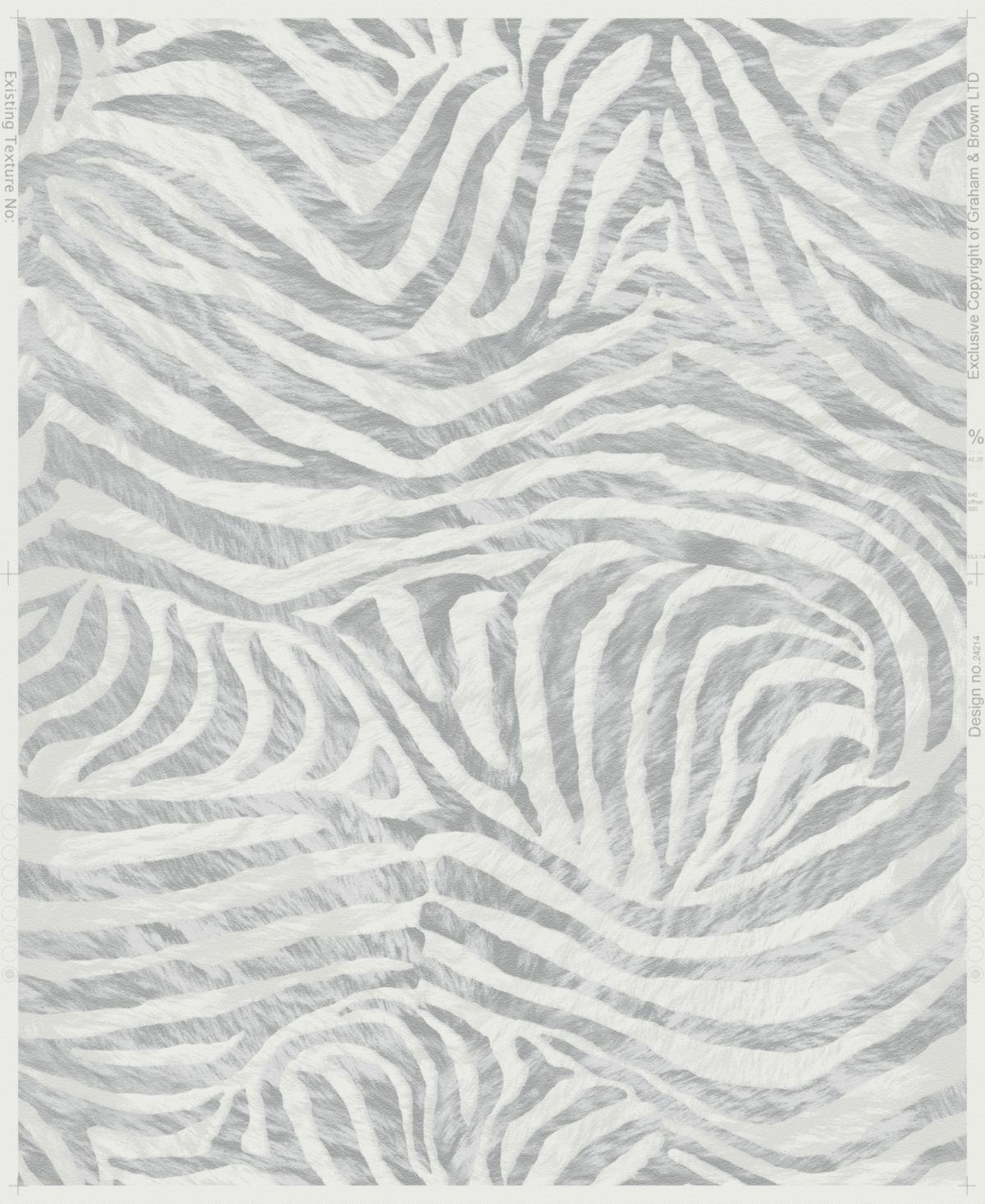 GRAHAM & BROWN Vliestapete »Zebra«