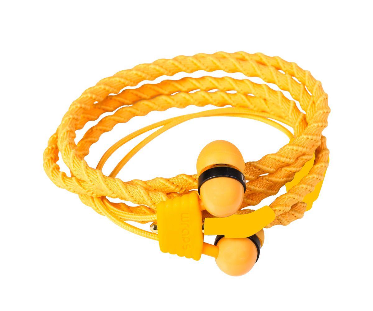 Midbass Headset »TALK Wrap Orange w/Mic«