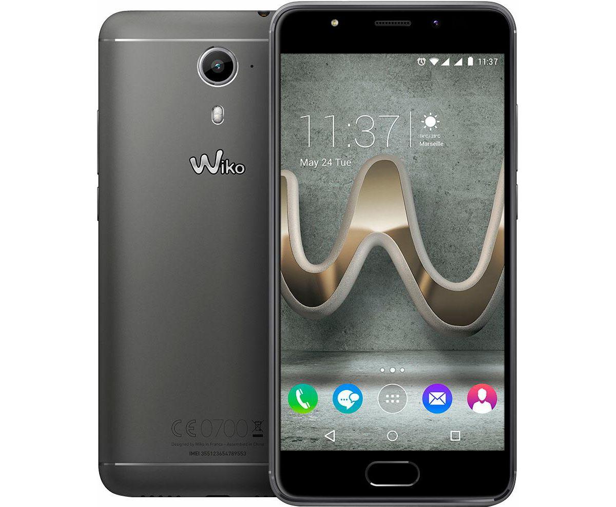 Wiko U Feel Prime Smartphone, 12,7 cm (5 Zoll) ...