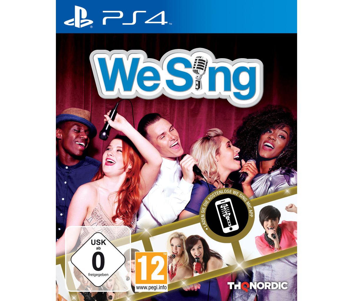 THQ Nordic Playstation 4 - Spiel »We Sing«