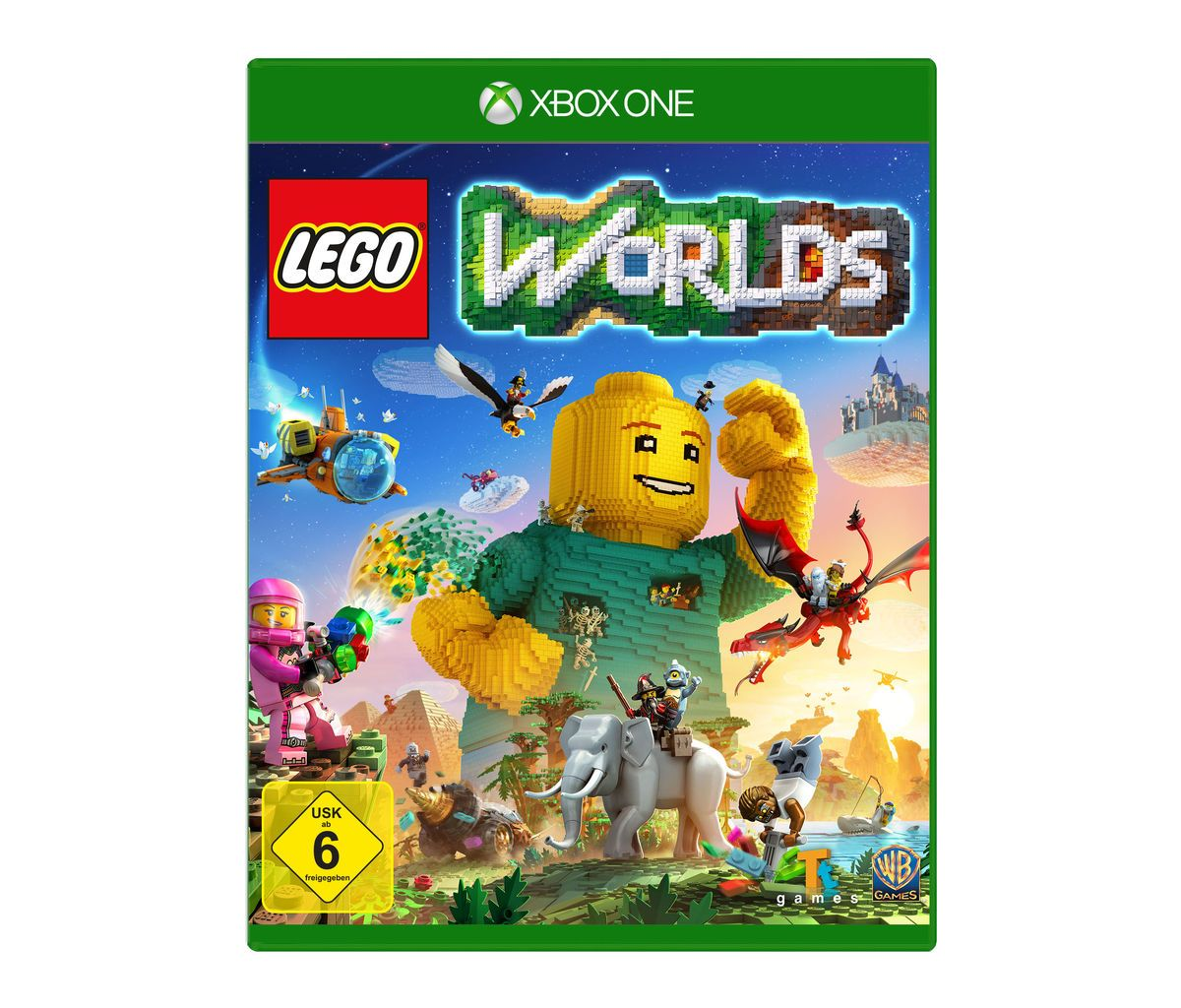 Warner Games XBOX One - Spiel »LEGO Worlds«