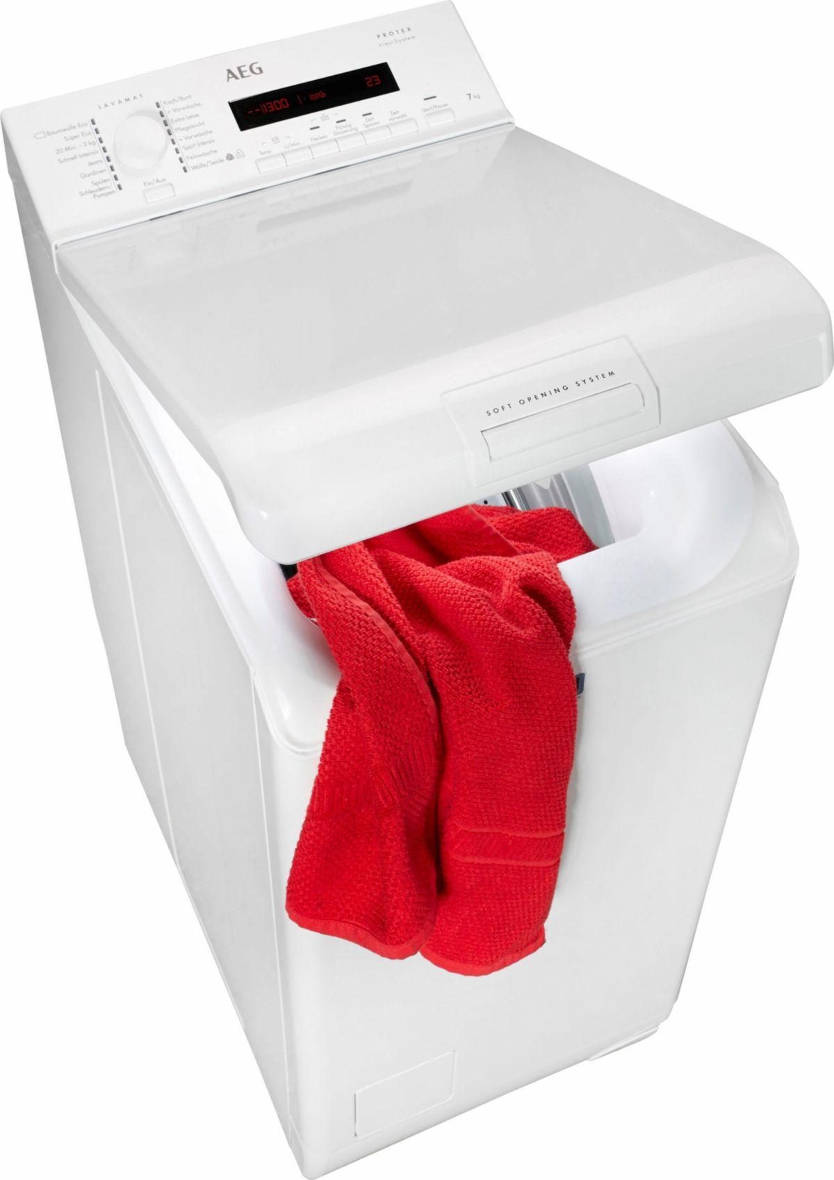 AEG Waschmaschine Toplader LAVAMAT L72270TL, A+...