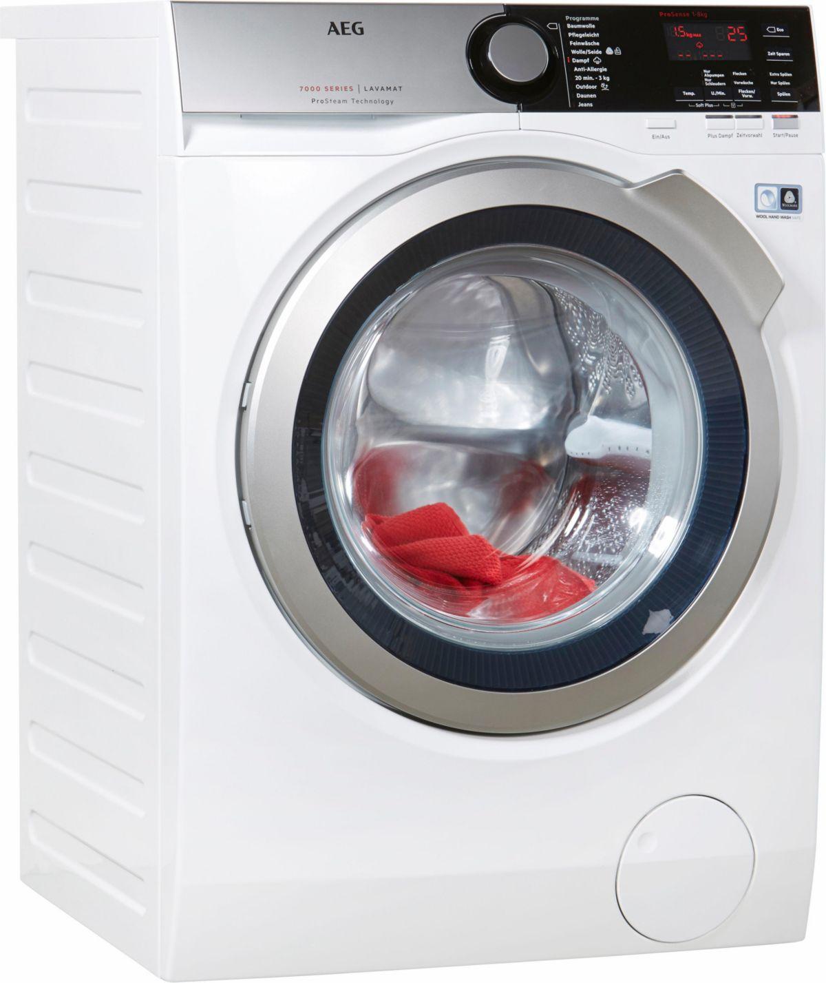 AEG Waschmaschine Lavamat L7FE76684, A+++, 8 kg...