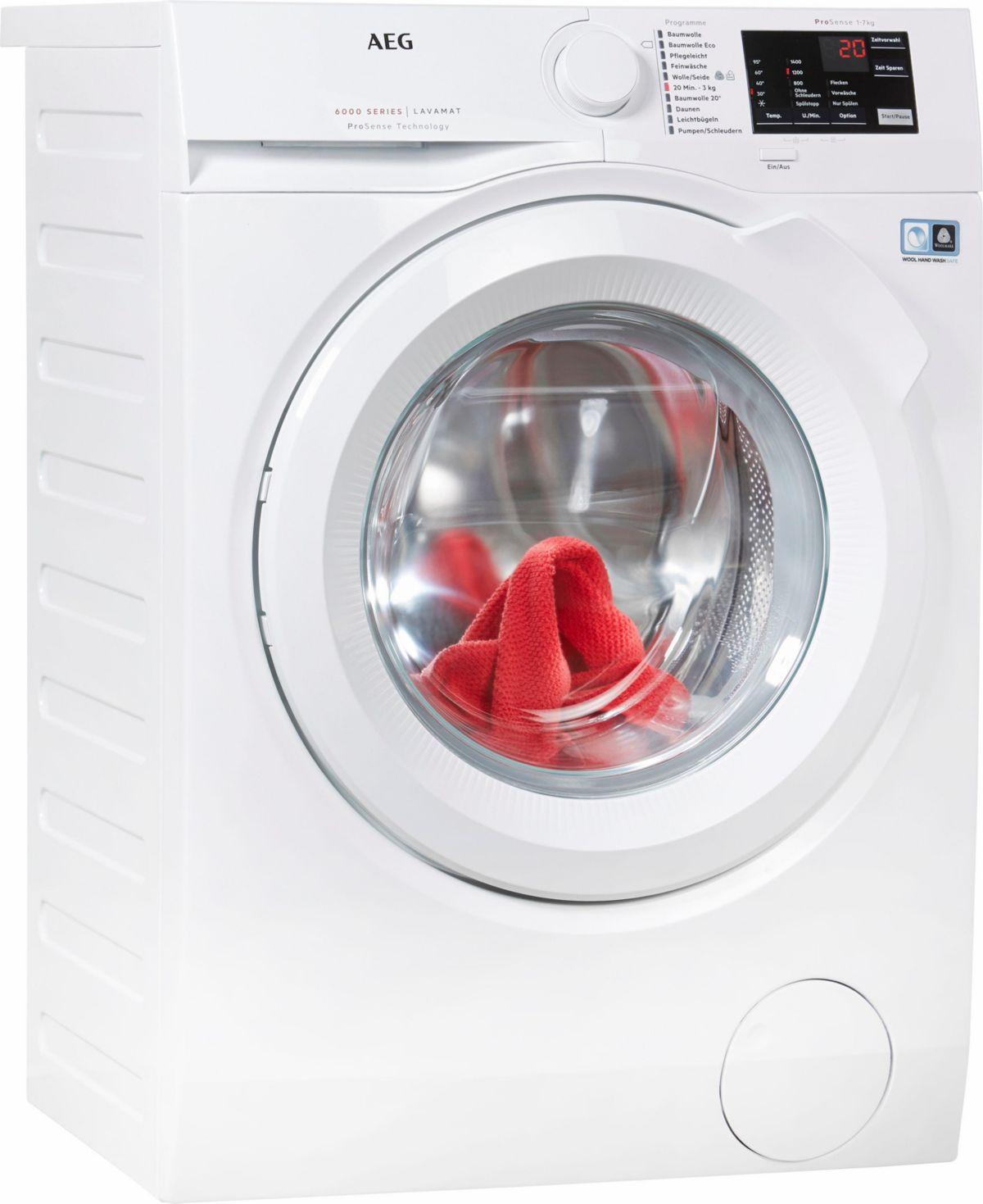 AEG Waschmaschine LAVAMAT L6FB54470, 7 kg, 1400...
