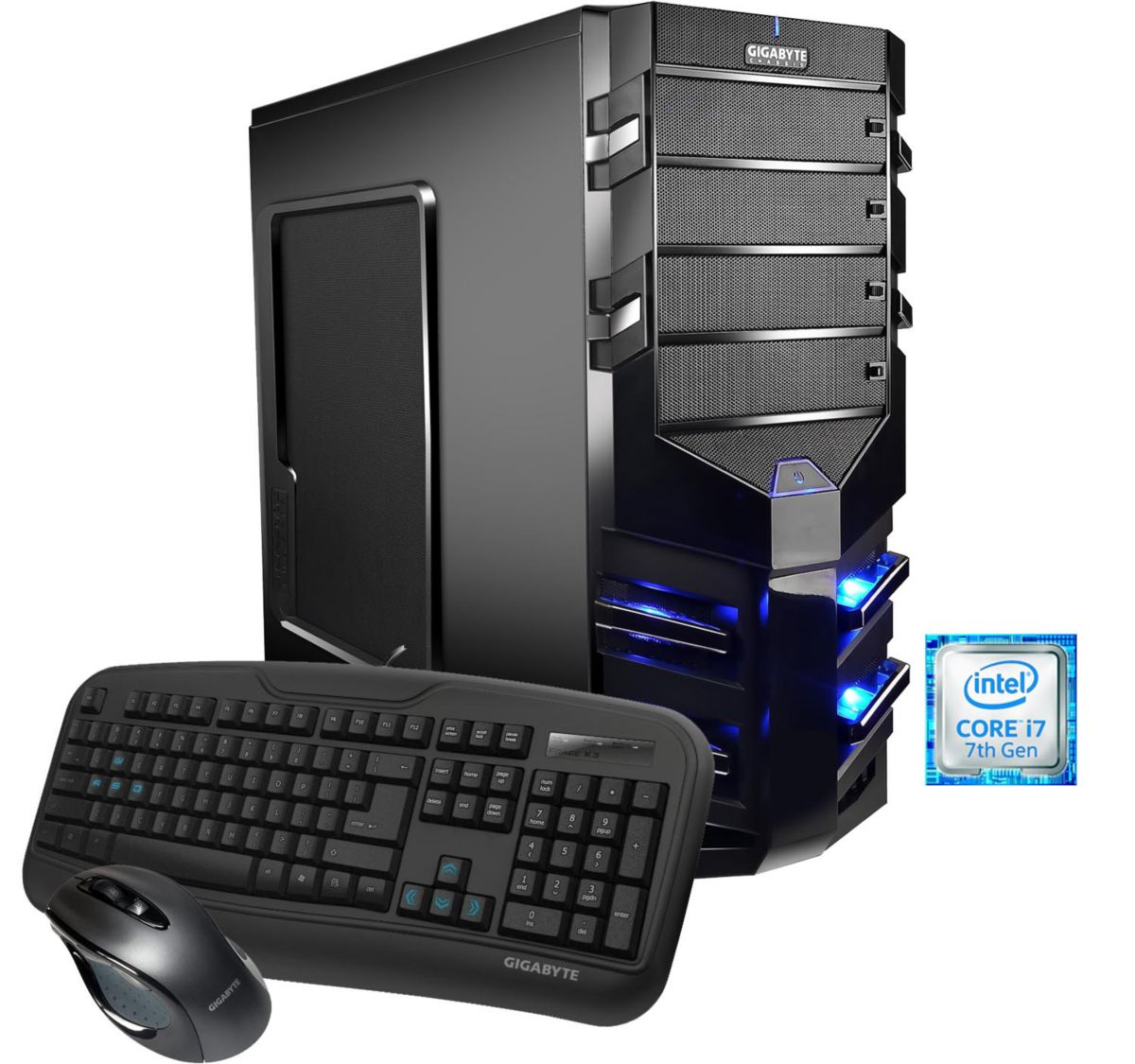Hyrican Gaming PC Intel® i7 7700  16GB  SSD+HDD GeForce® GTX 1080 »Alpha Gaming 5458«