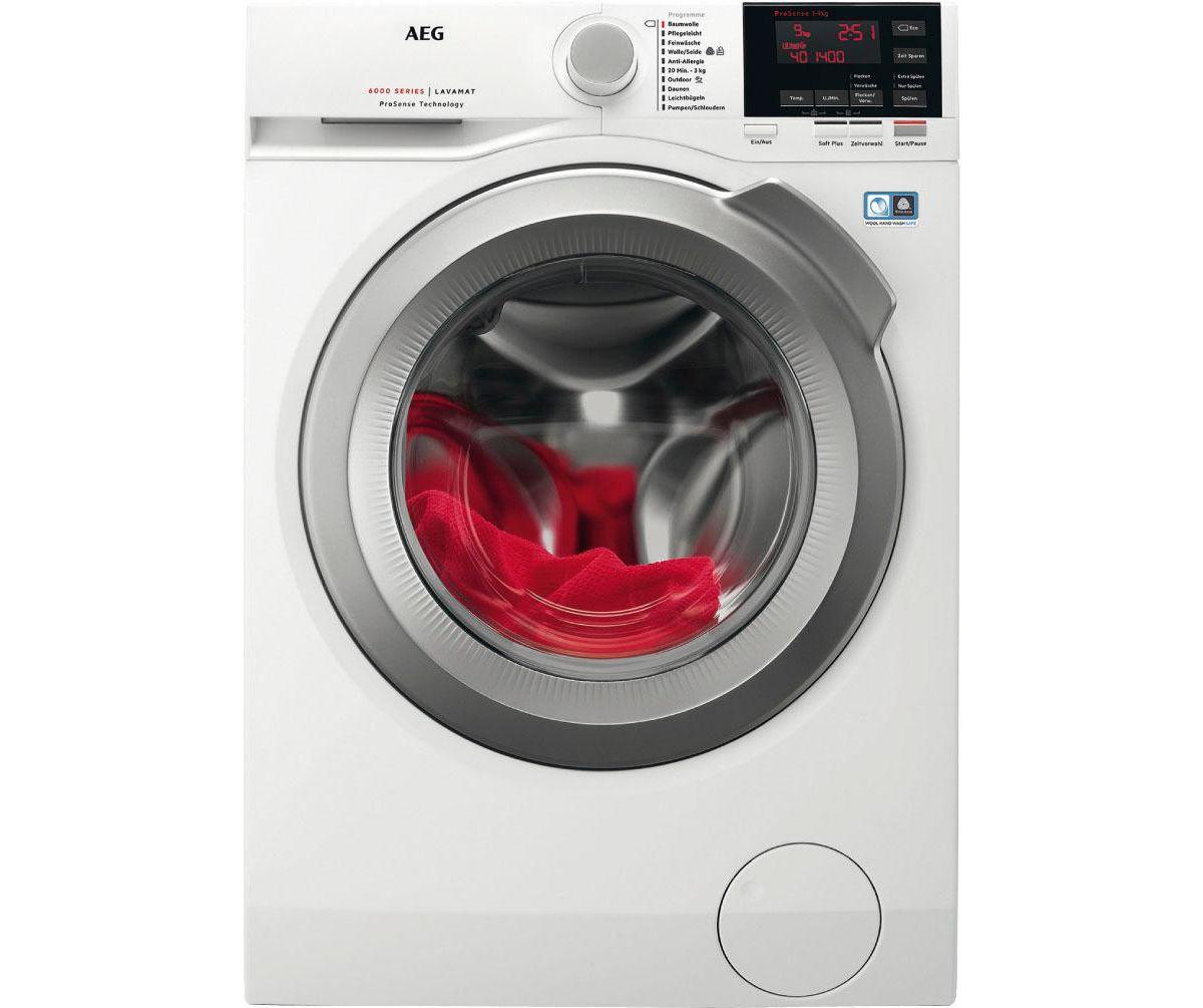AEG Waschmaschine Lavamat L6FB67490, A+++, 9 kg...