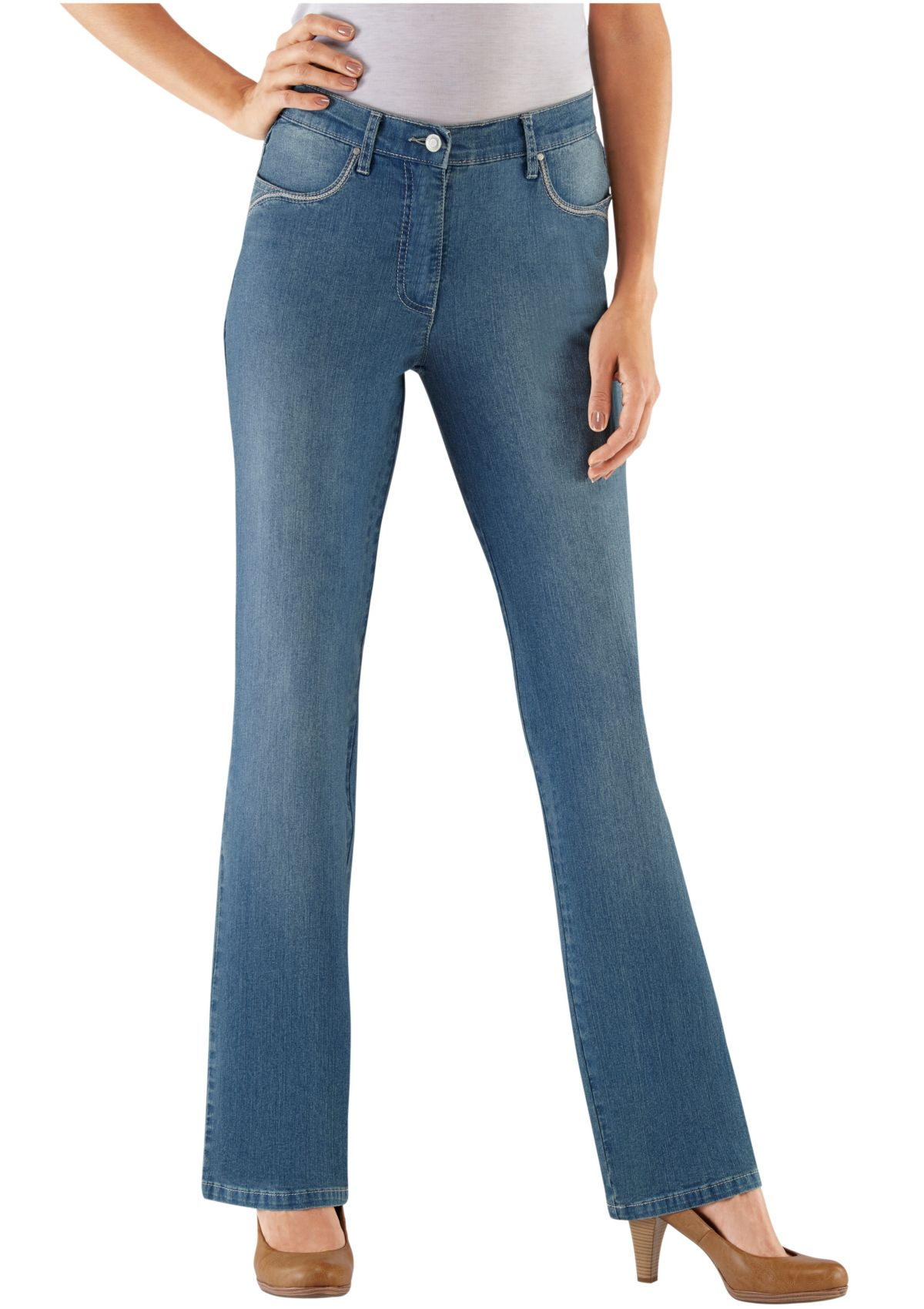 Collection L Jeans in Bootcut-Form