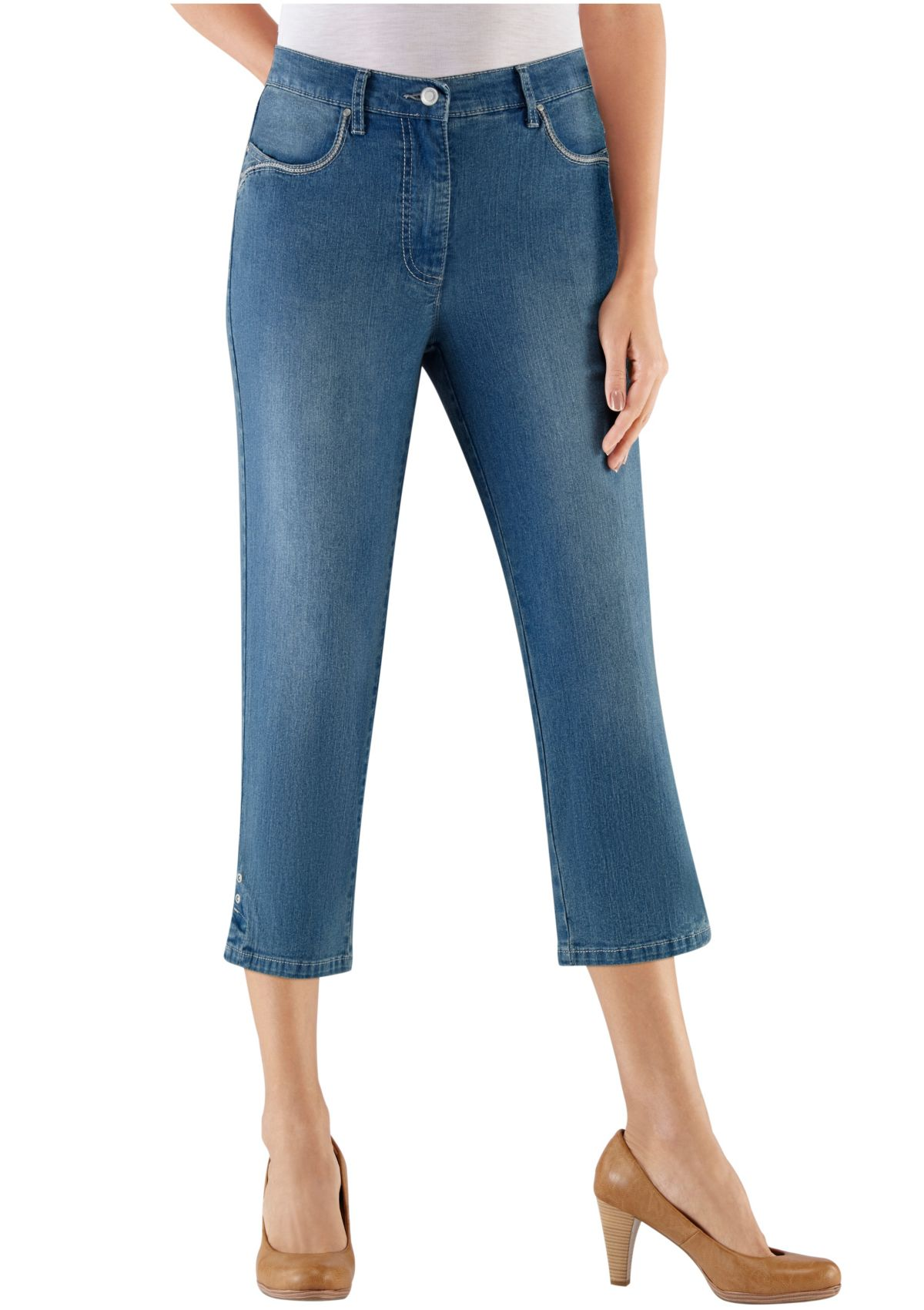 Collection L Jeans wadenlang